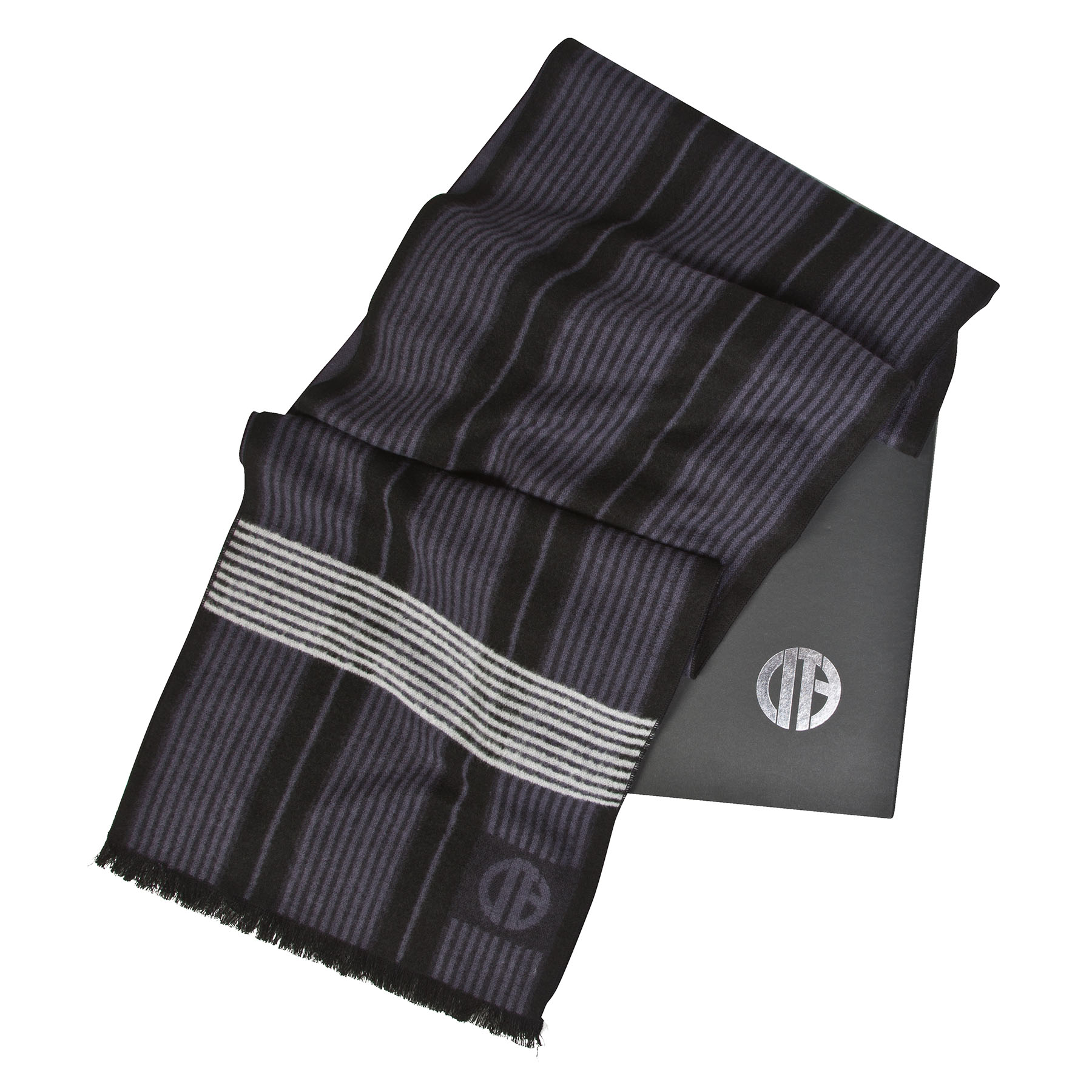 Manchester City Luxury Boxed Scarf - Black - Adult