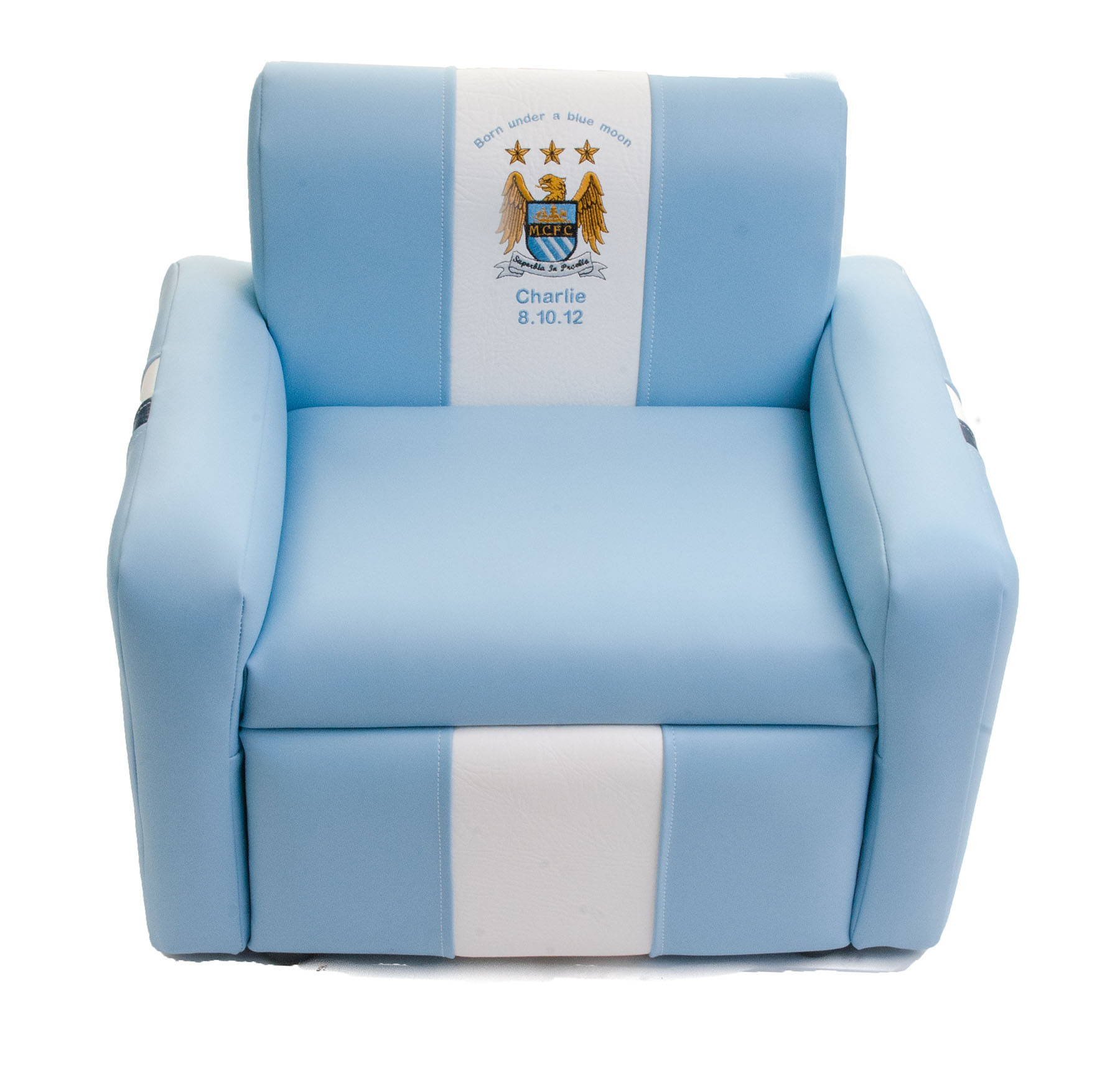 Manchester City Personalised Small Armchair