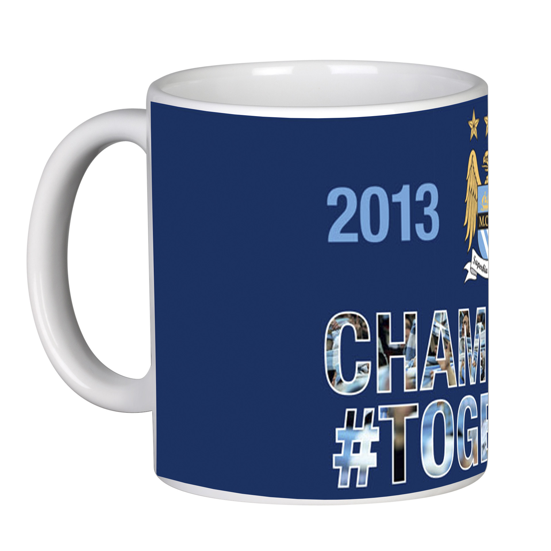 Manchester City Champions #Together Mug 11oz