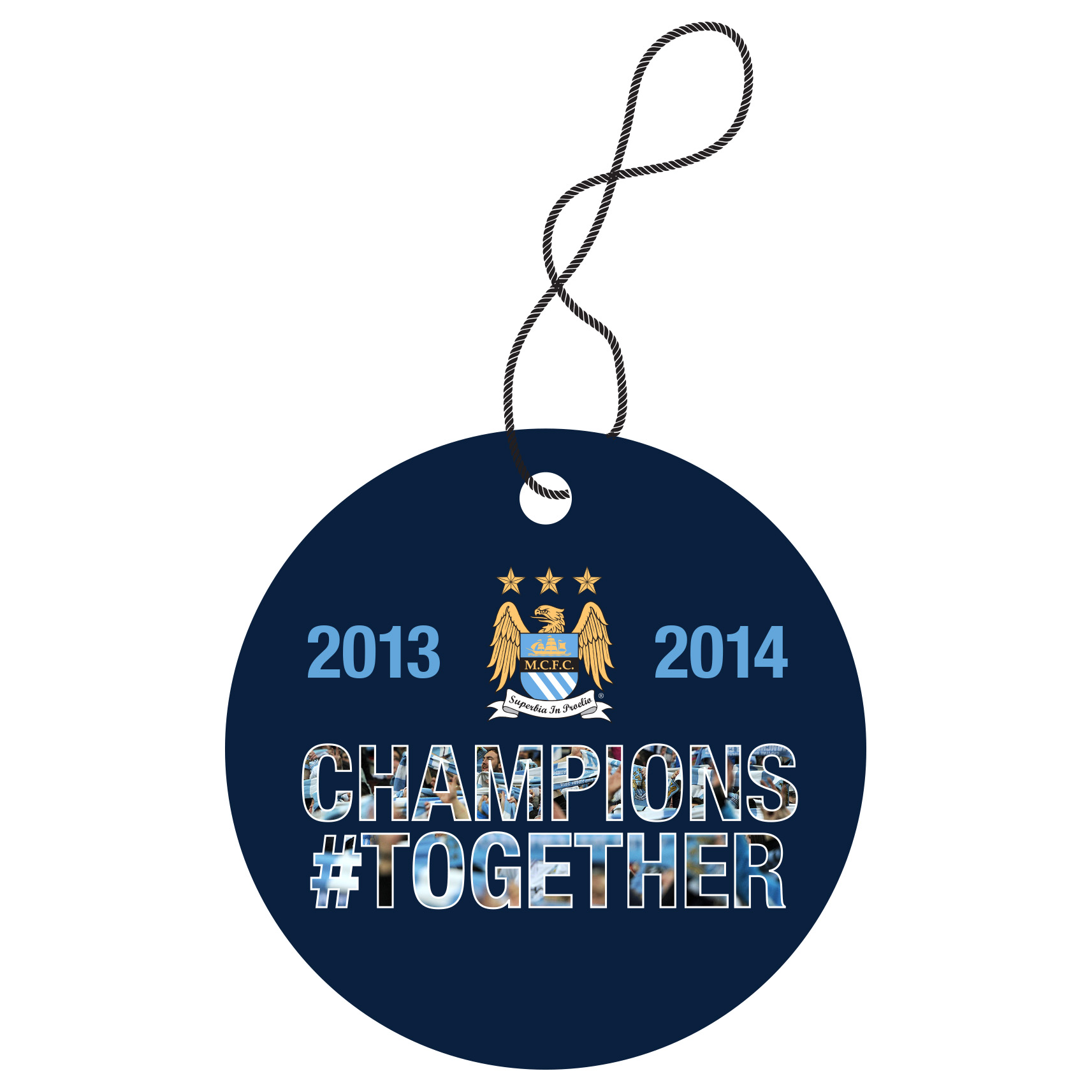 Manchester City Champions #Together Air Freshener