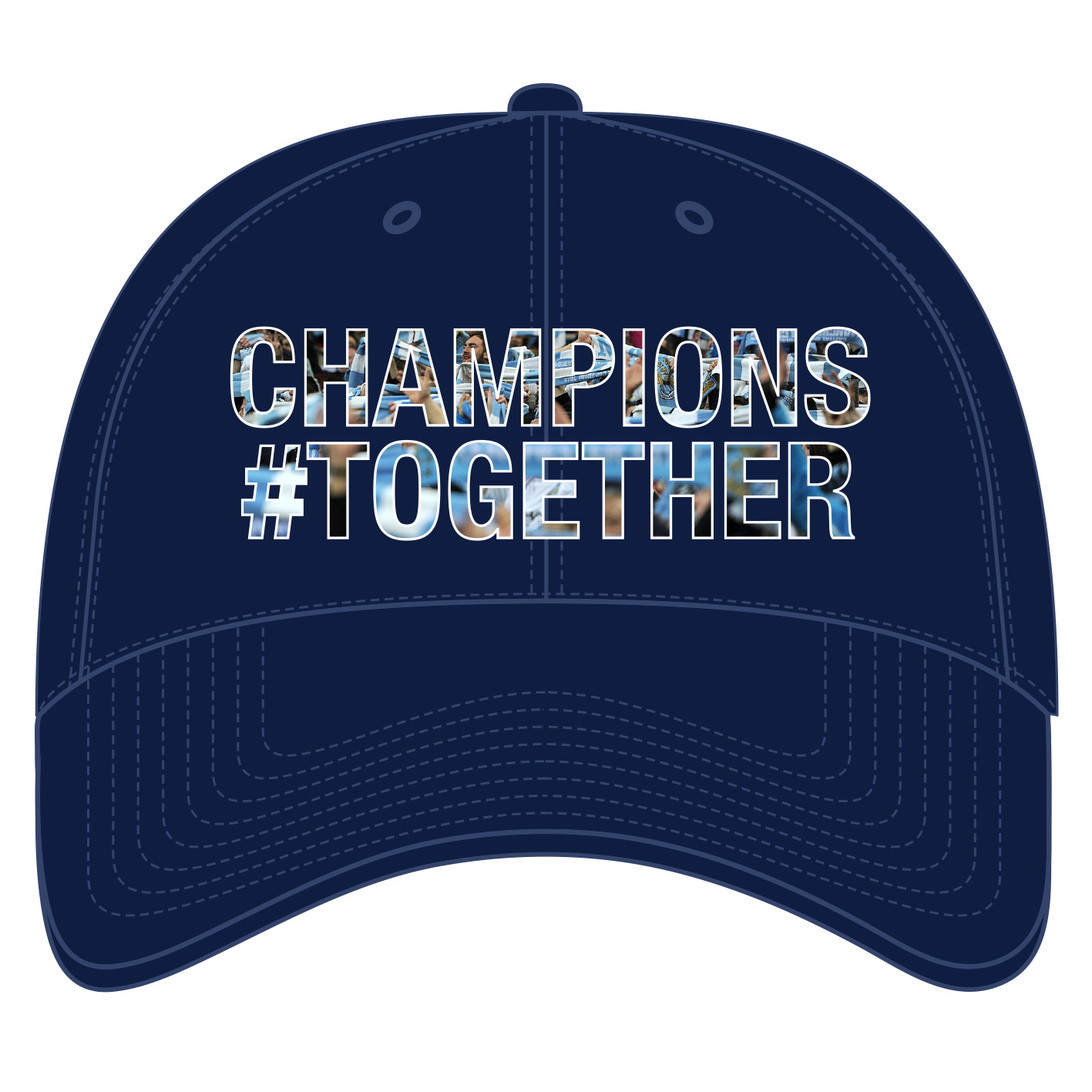 Manchester City Champions #Together Cap