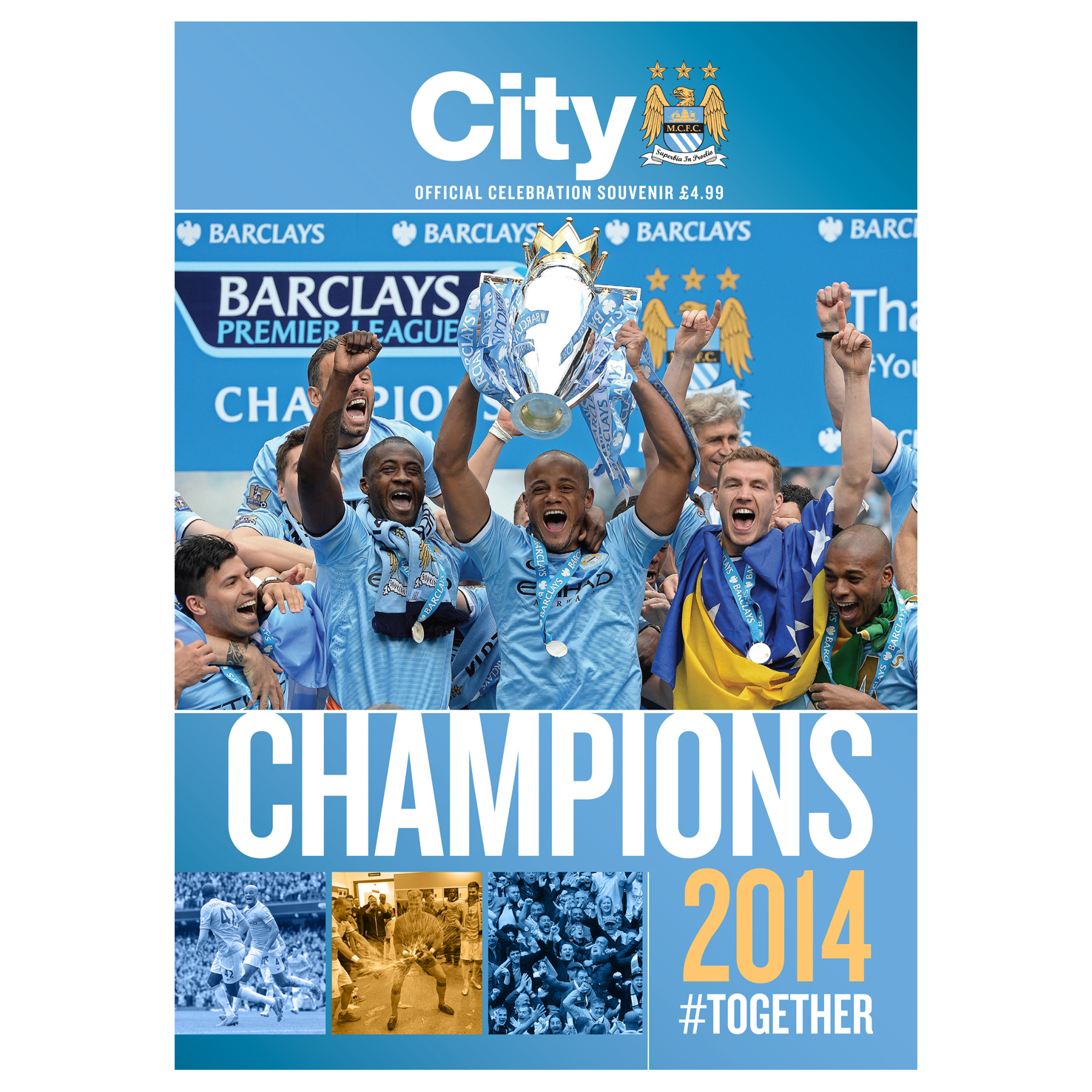 Manchester City Champions Magazine 2013/2014