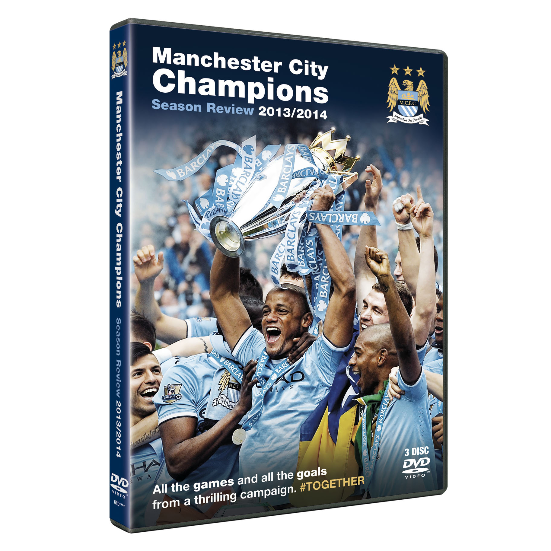 Manchester City Champions #Together DVD