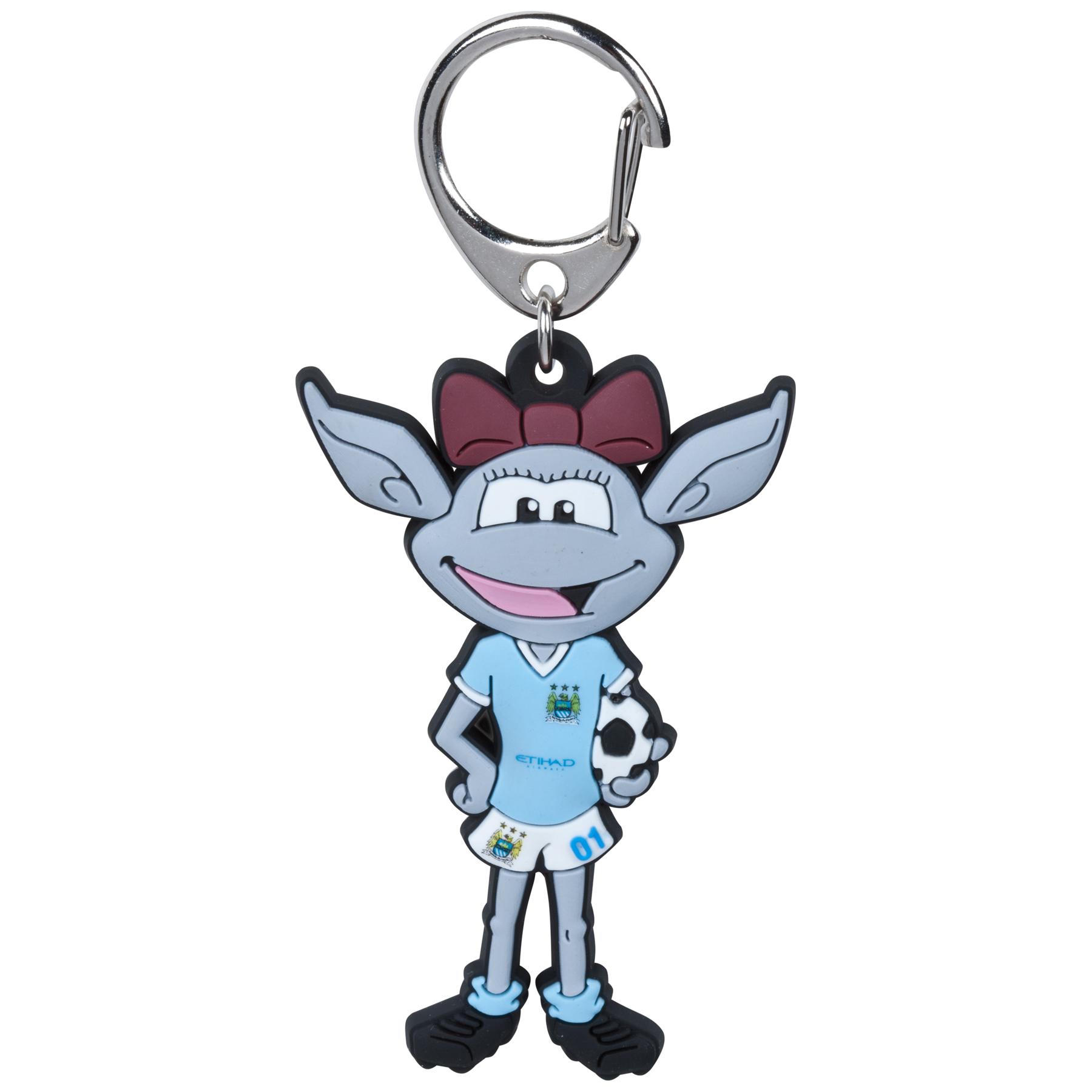Manchester City Moonbeam Mascot Keyring