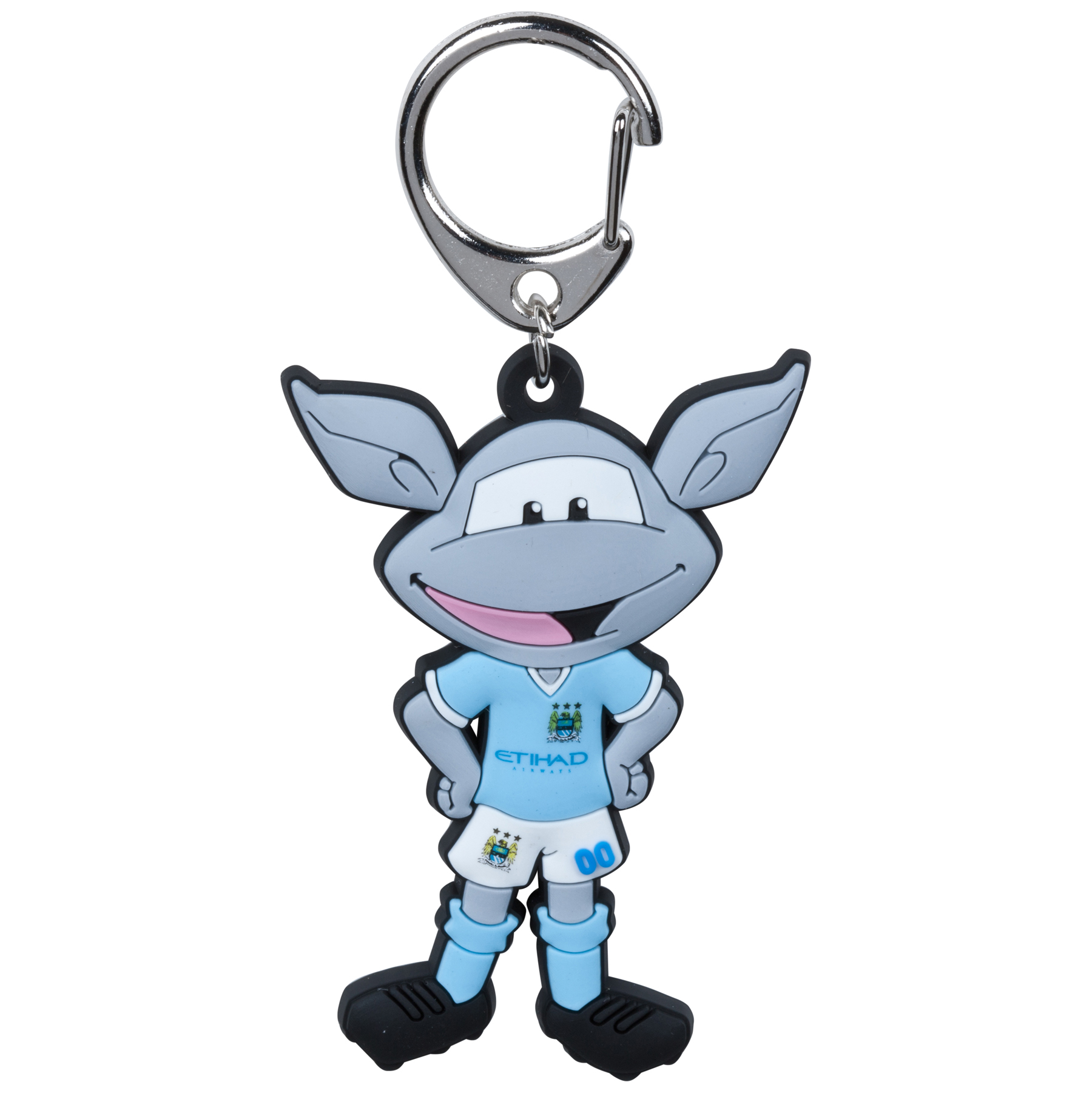 Manchester City Moonchester Mascot Keyring