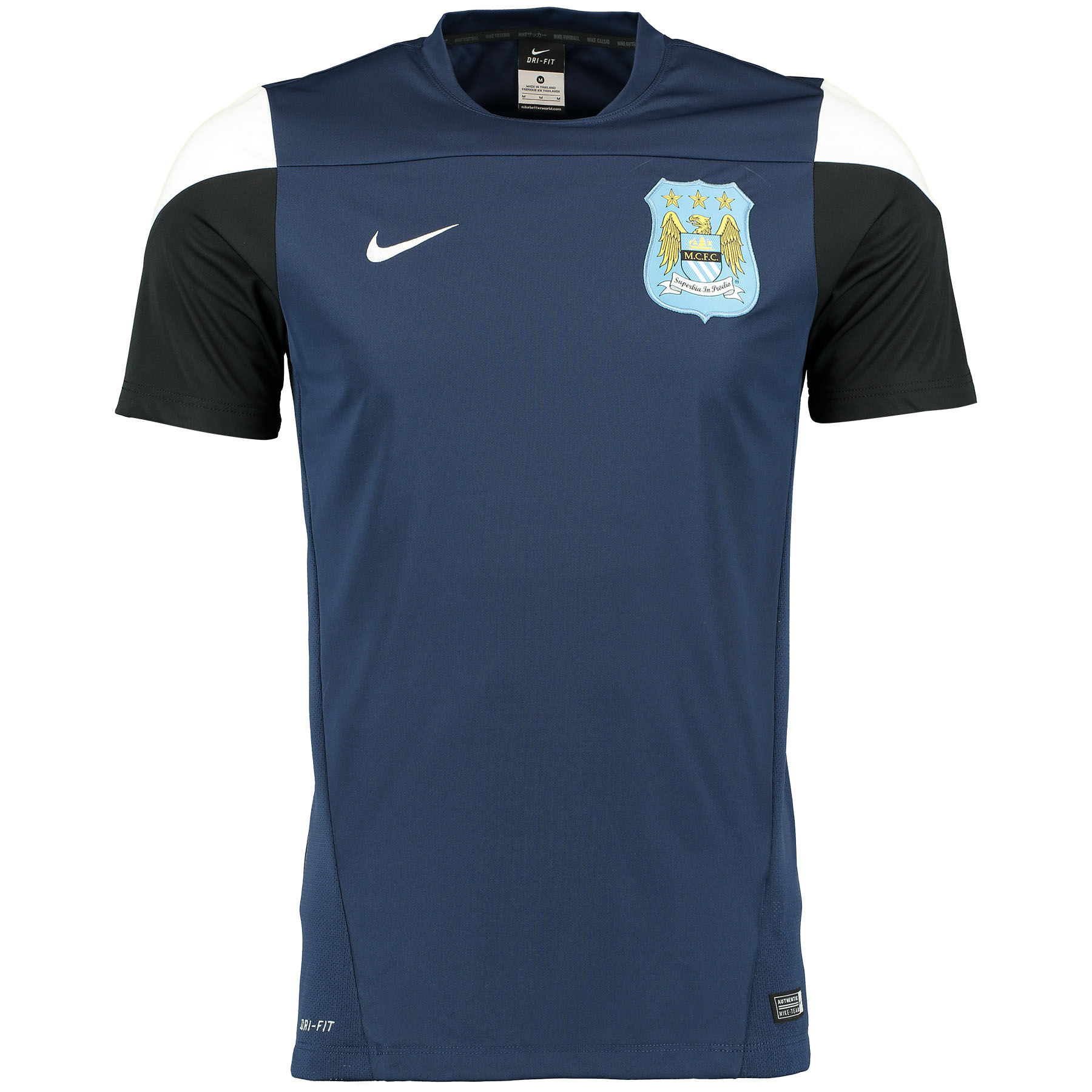 Manchester City Squad Short Sleeve Training Top