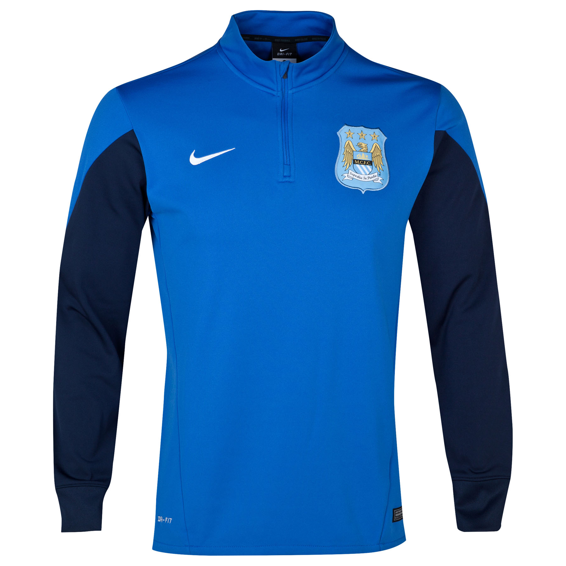 Manchester City Squad Midlayer Top Royal Blue