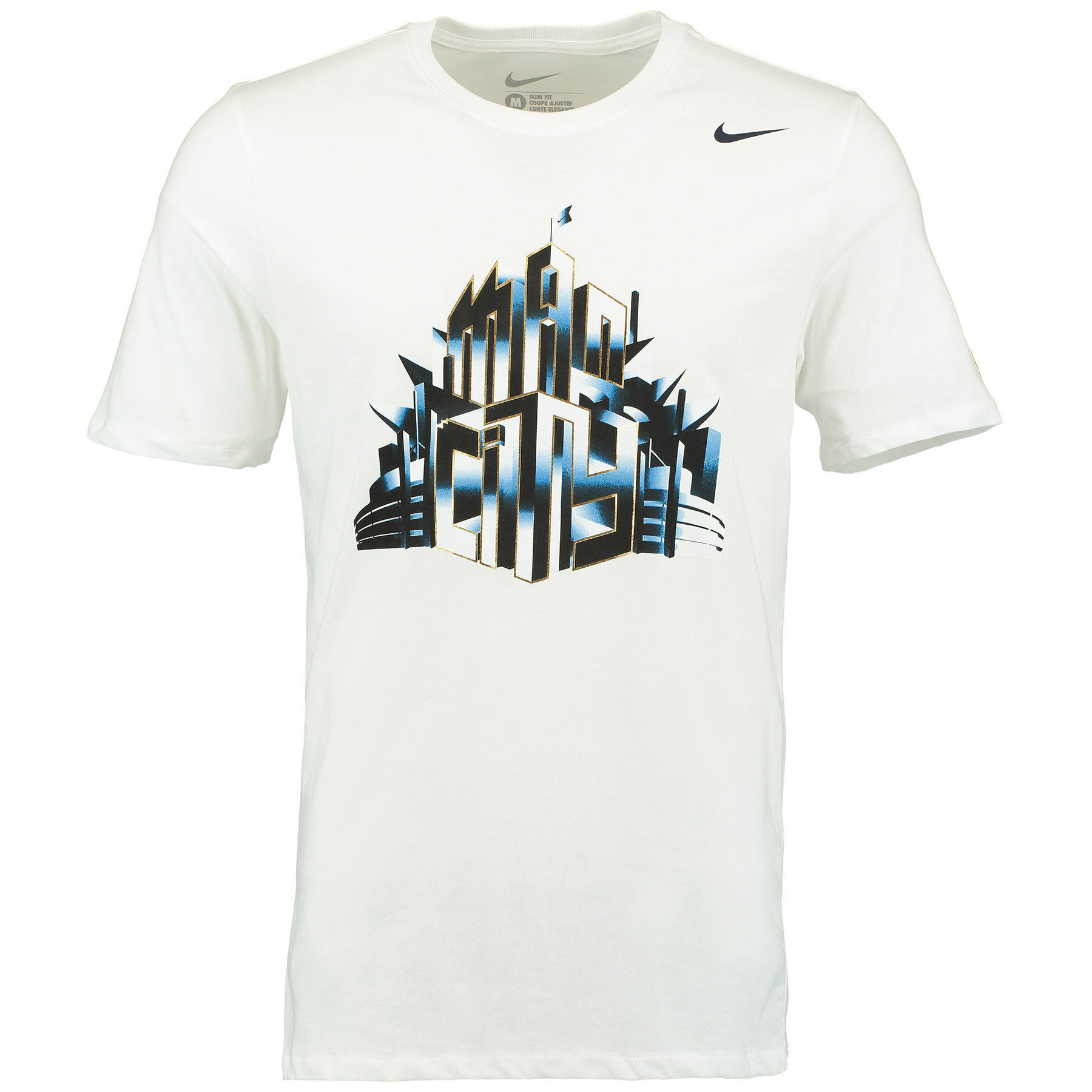 Manchester City Core Plus T-Shirt White