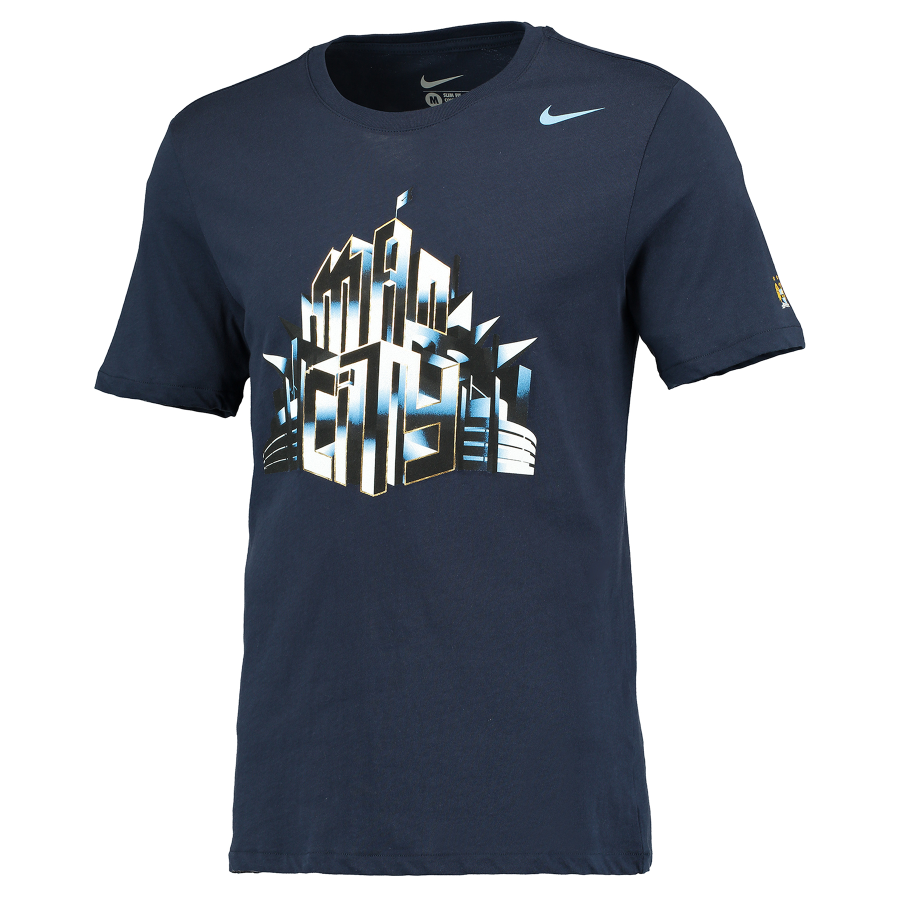 Manchester City Core Plus T-Shirt Navy