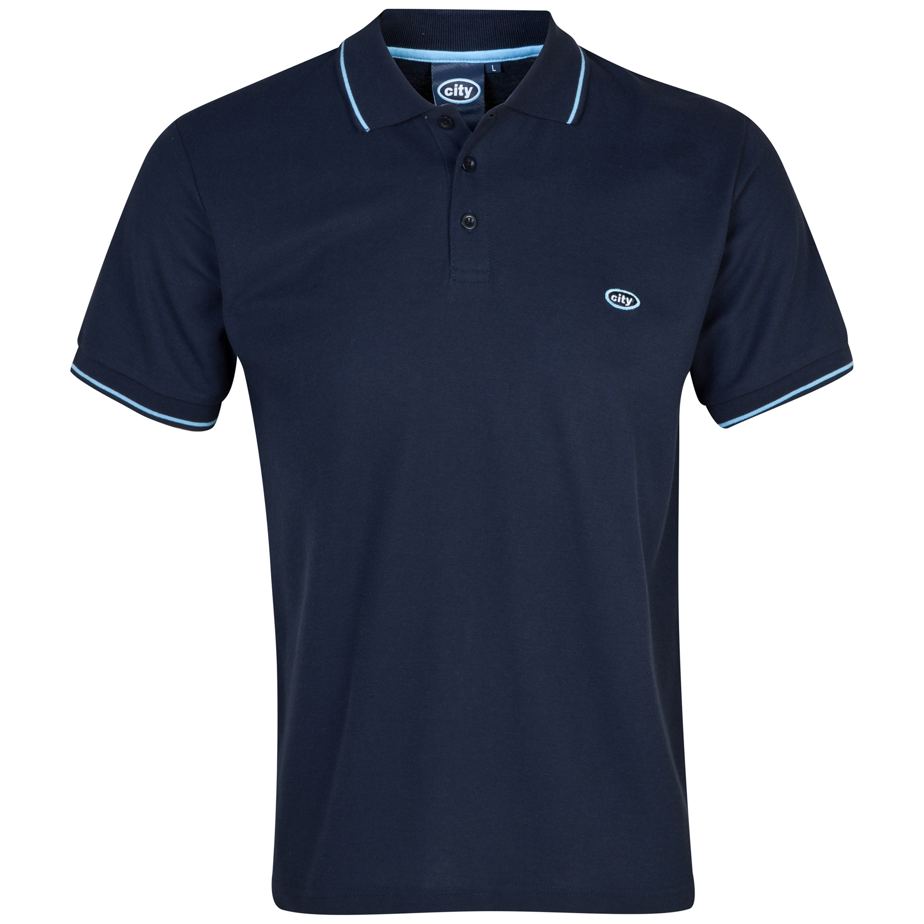 Manchester City Polo 2 for 30 - Navy - Mens