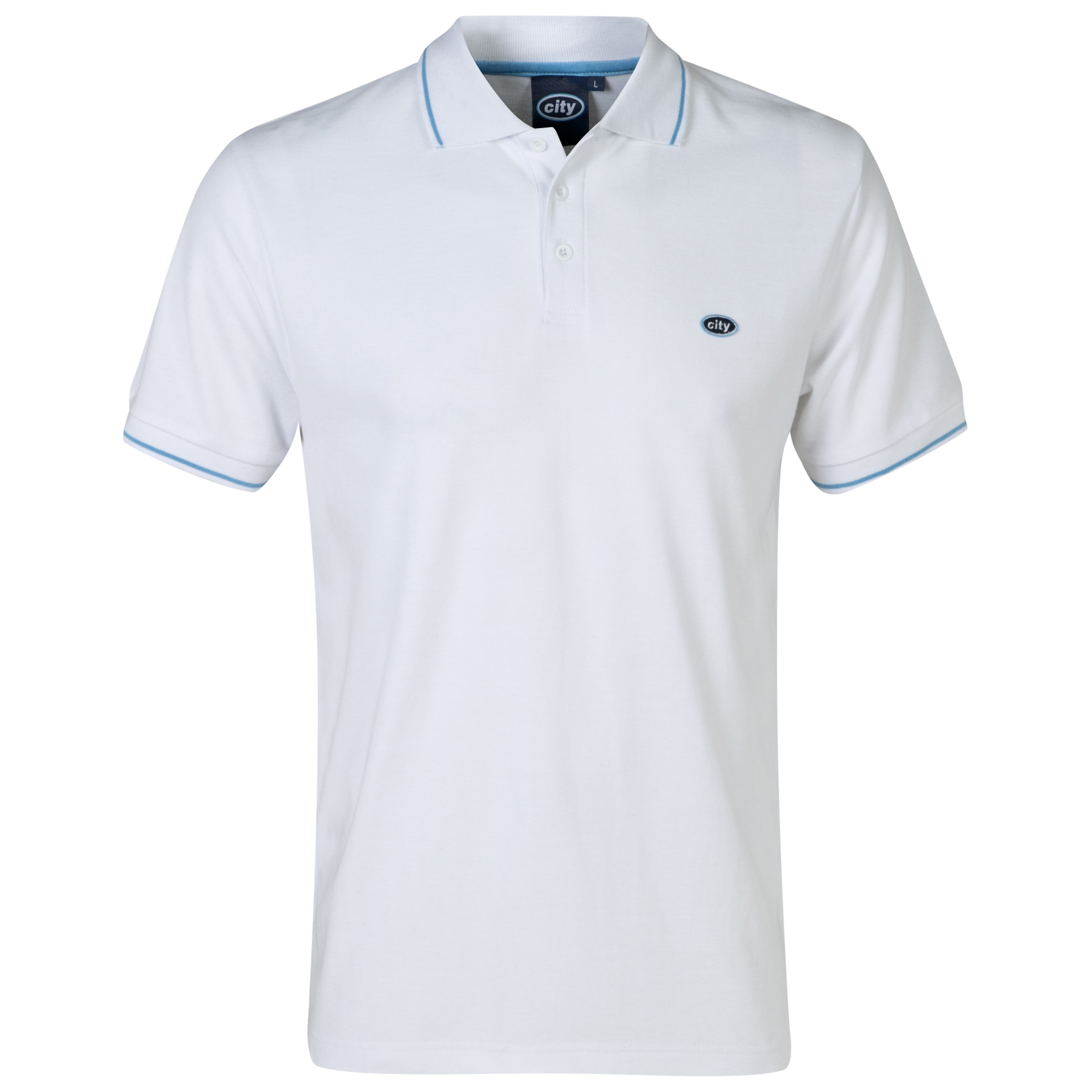 Manchester City Polo 2 for 30 - White - Mens