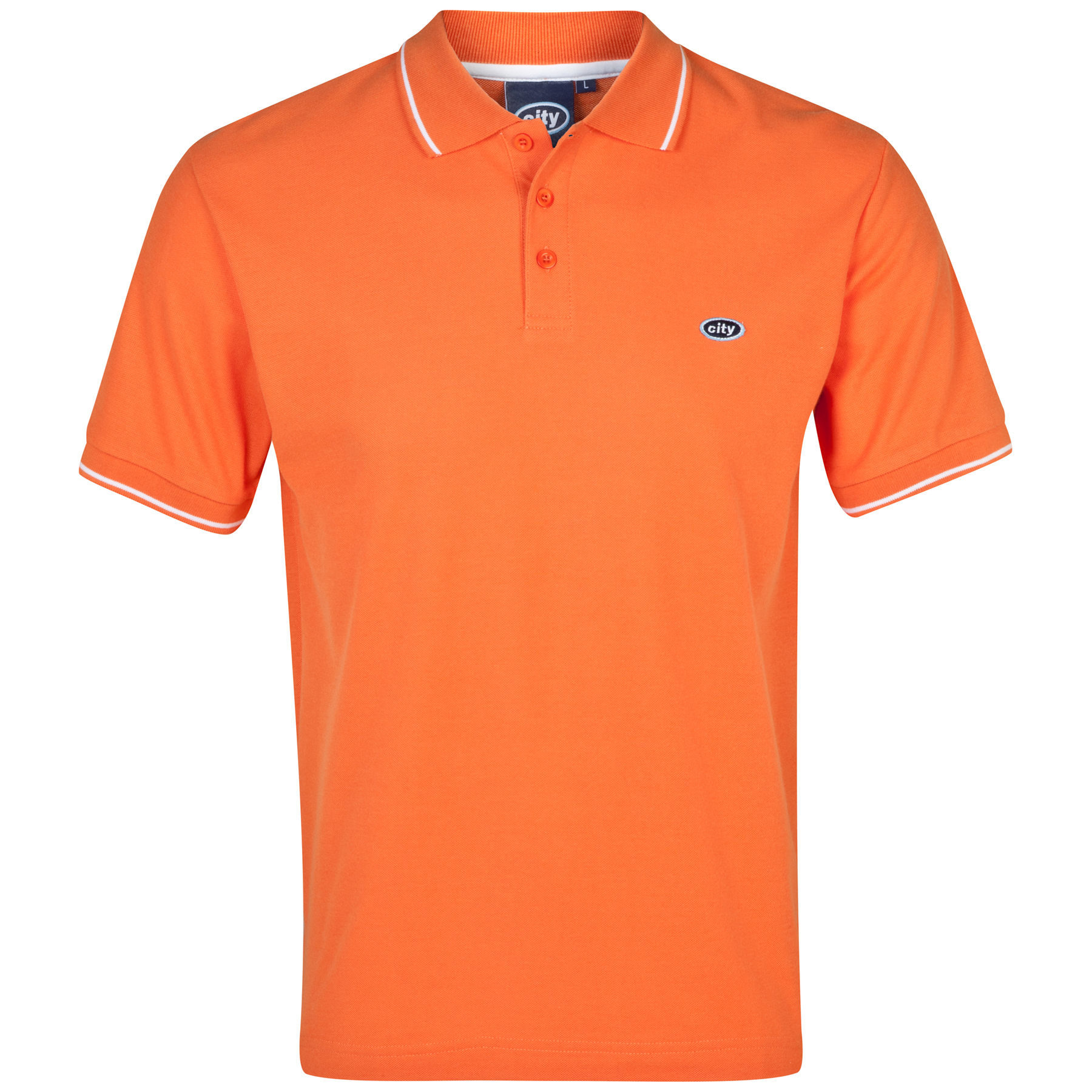 Manchester City Polo 2 for 30 - Orange - Mens