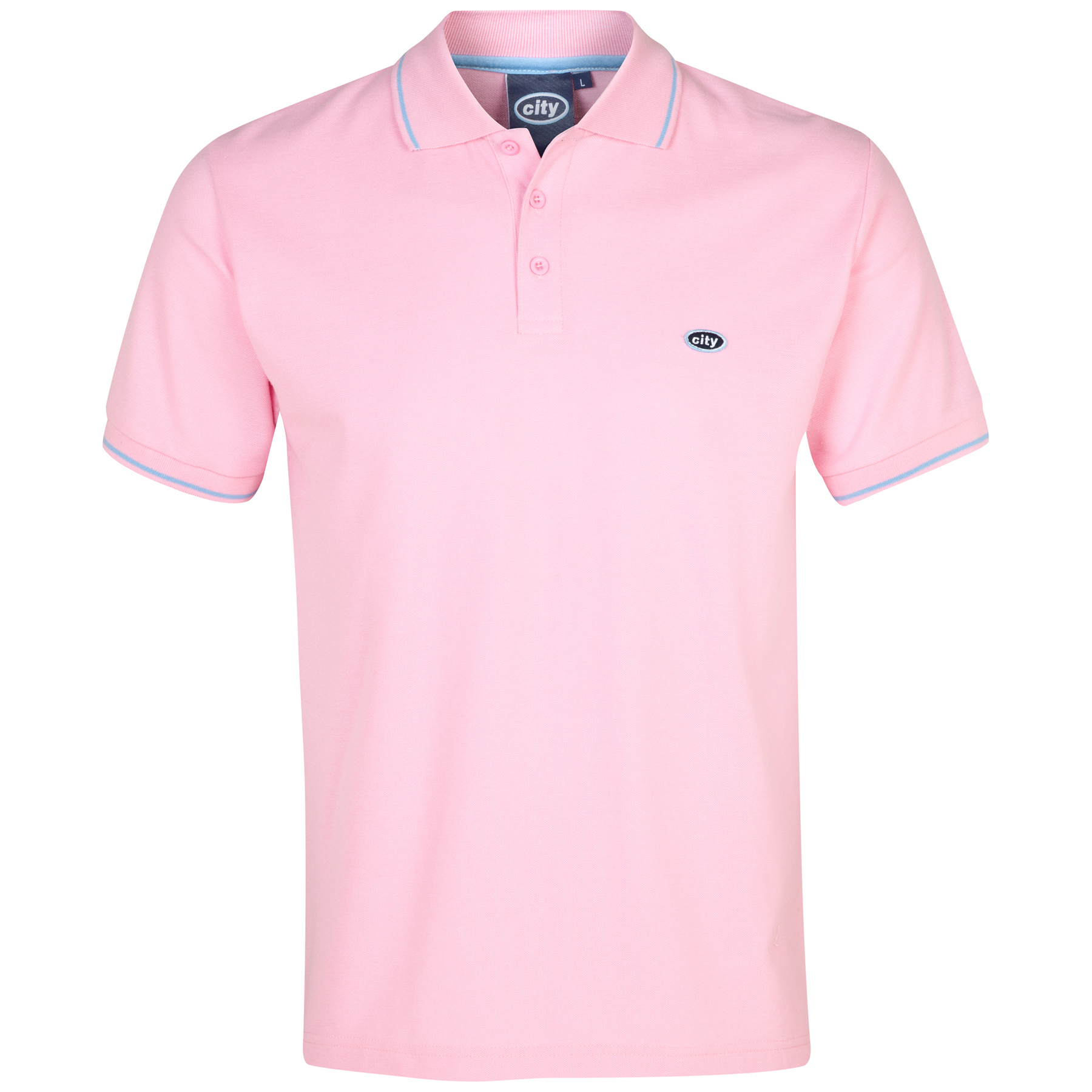 Manchester City Polo 2 for 30 - Pink - Mens