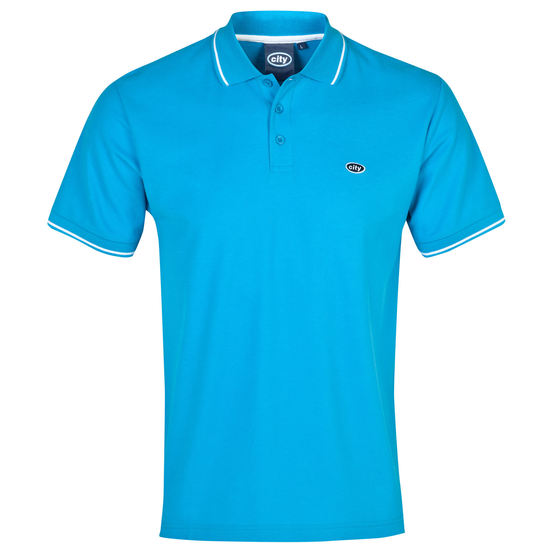 Manchester City Polo 2 for 30 - Blue - Mens