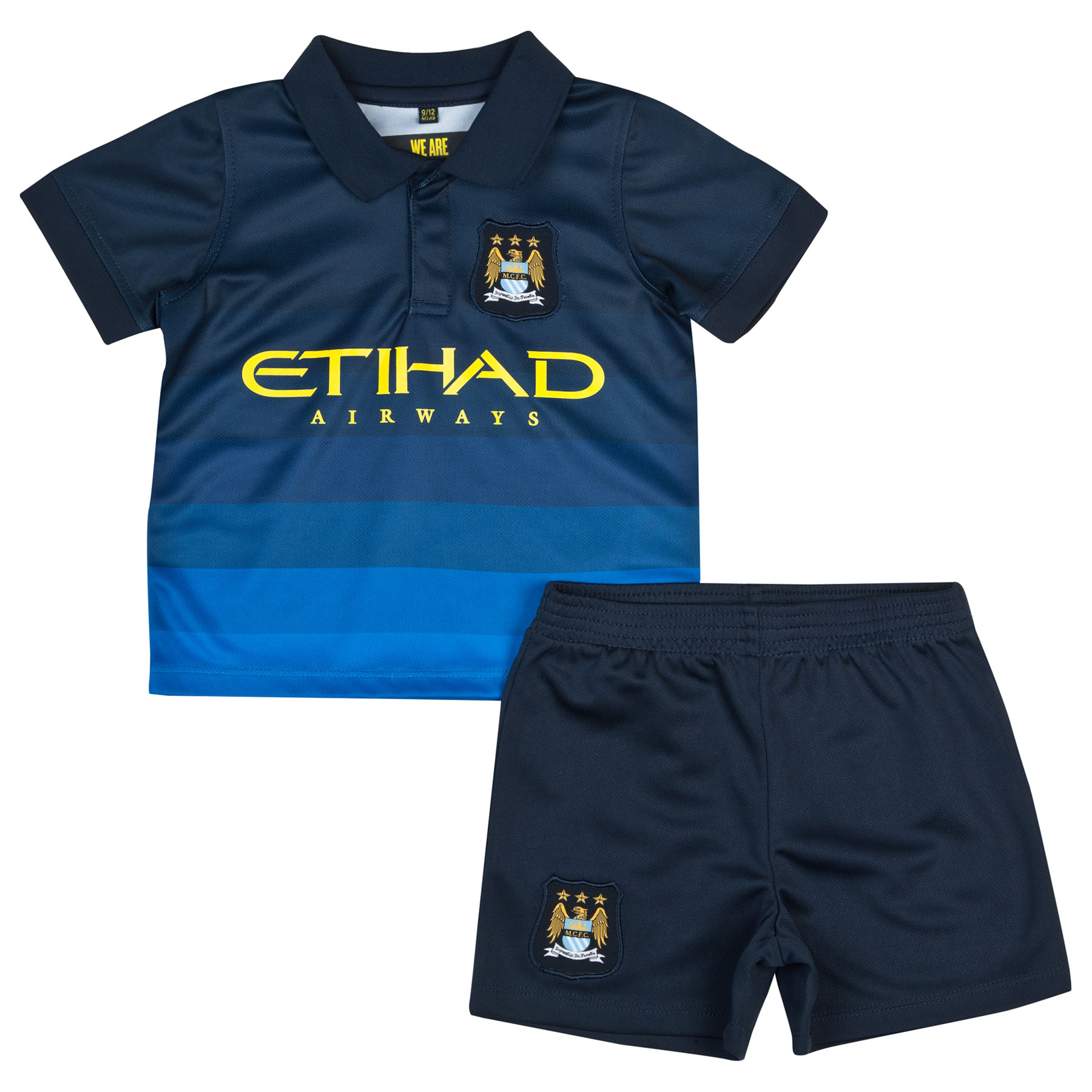 Manchester City 14/15 Away Kit- Navy - Baby