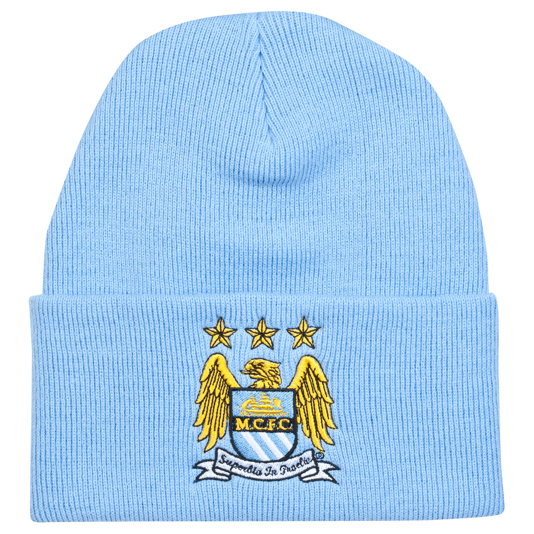 Manchester City UCL Bronx Hat - Sky - Adult