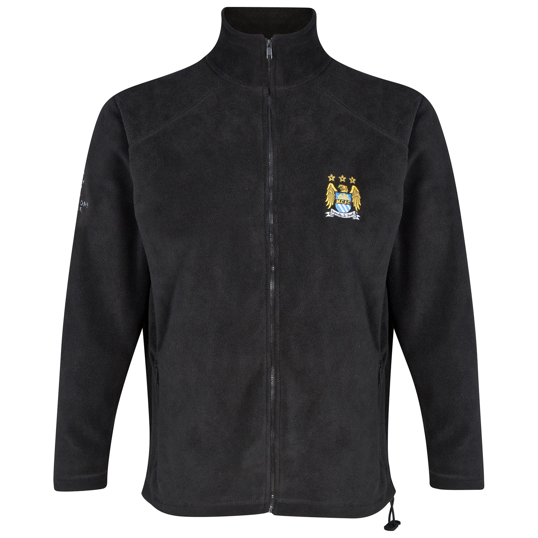 Manchester City UCL Fleece - Black - Mens