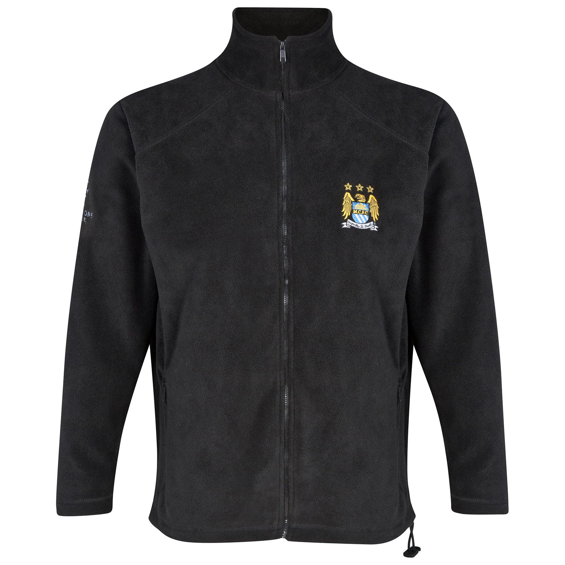 Manchester City UCL Fleece - Black - Mens