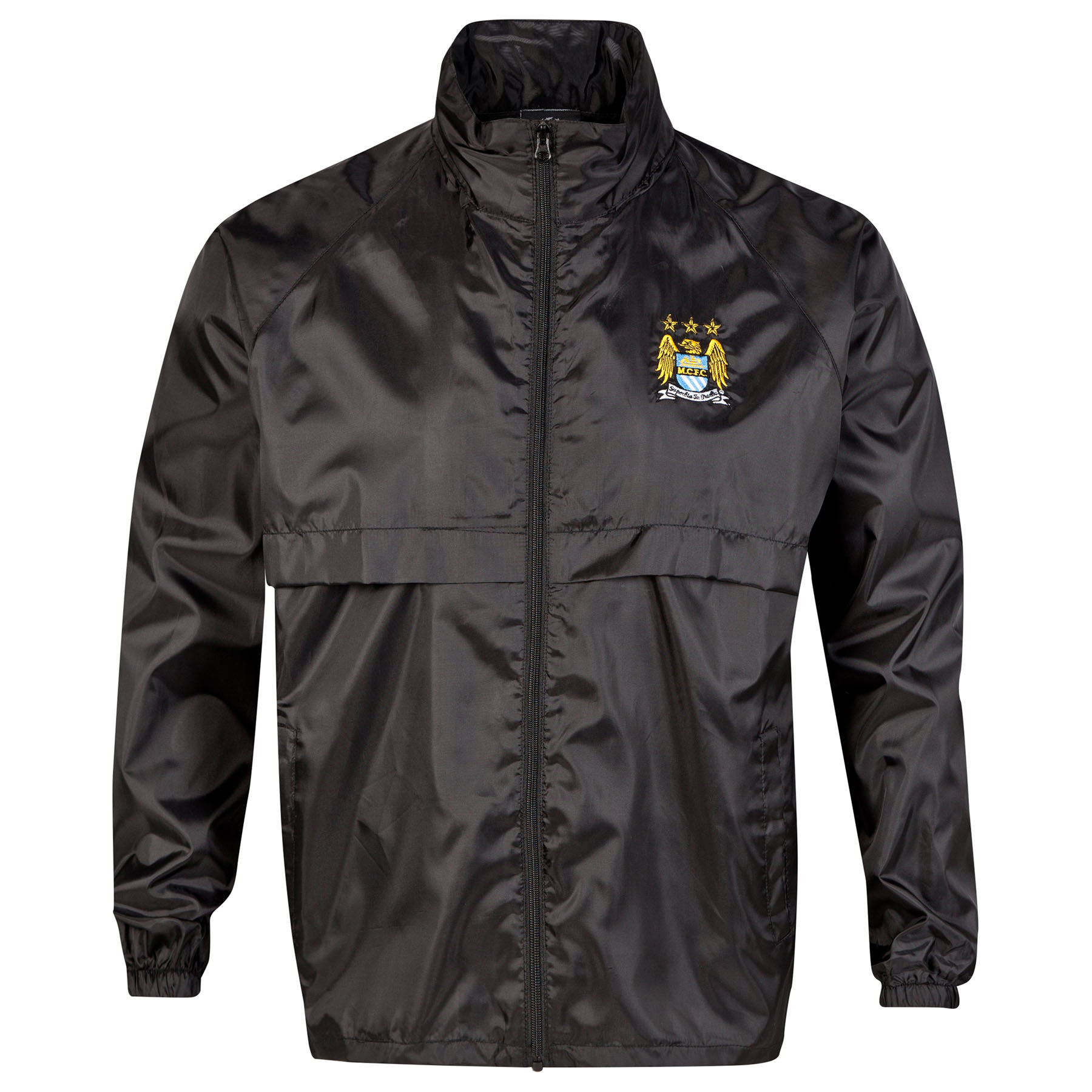 Manchester City UCL Windbreaker - Black - Mens