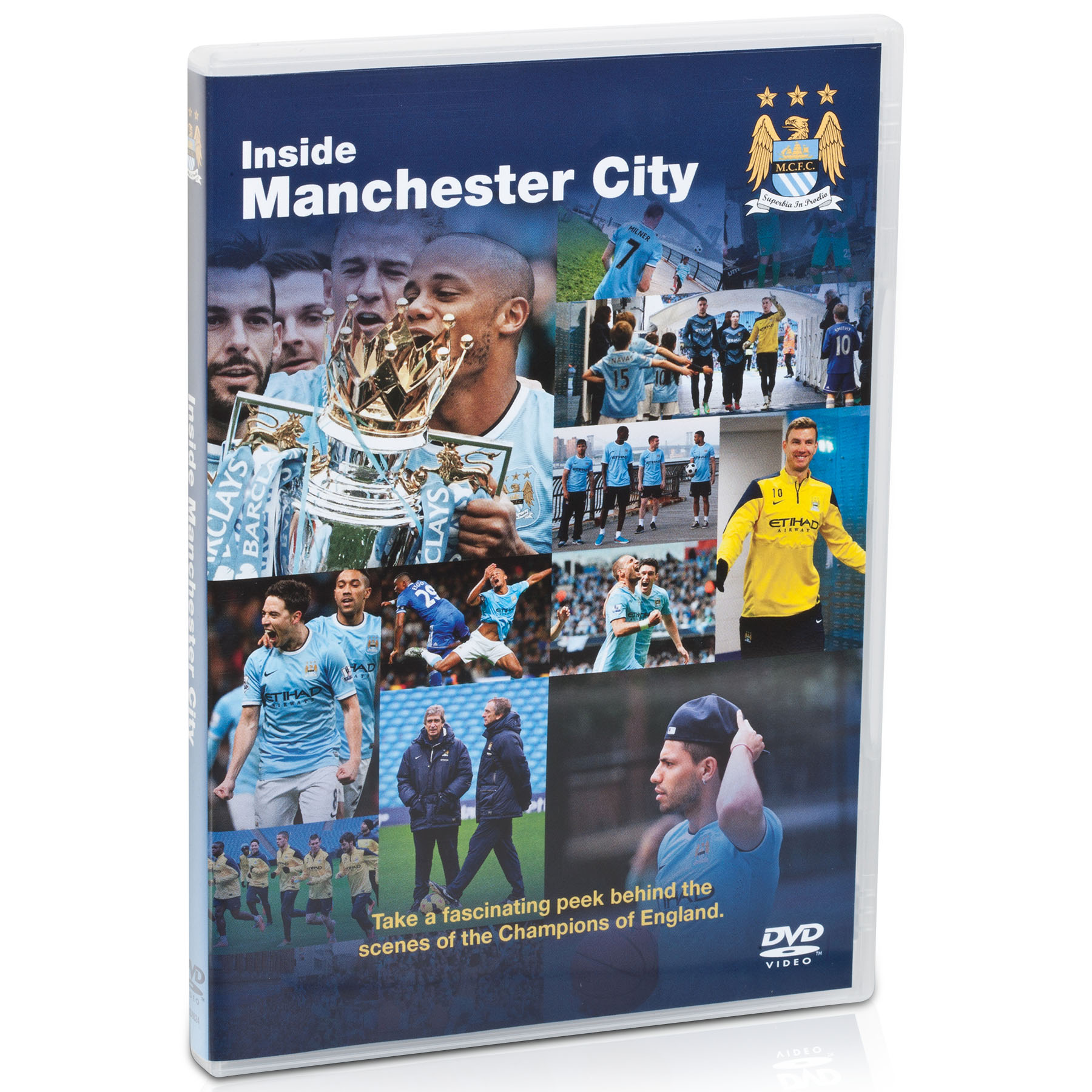 Inside Manchester City || Click Here for the DVD on Inside City