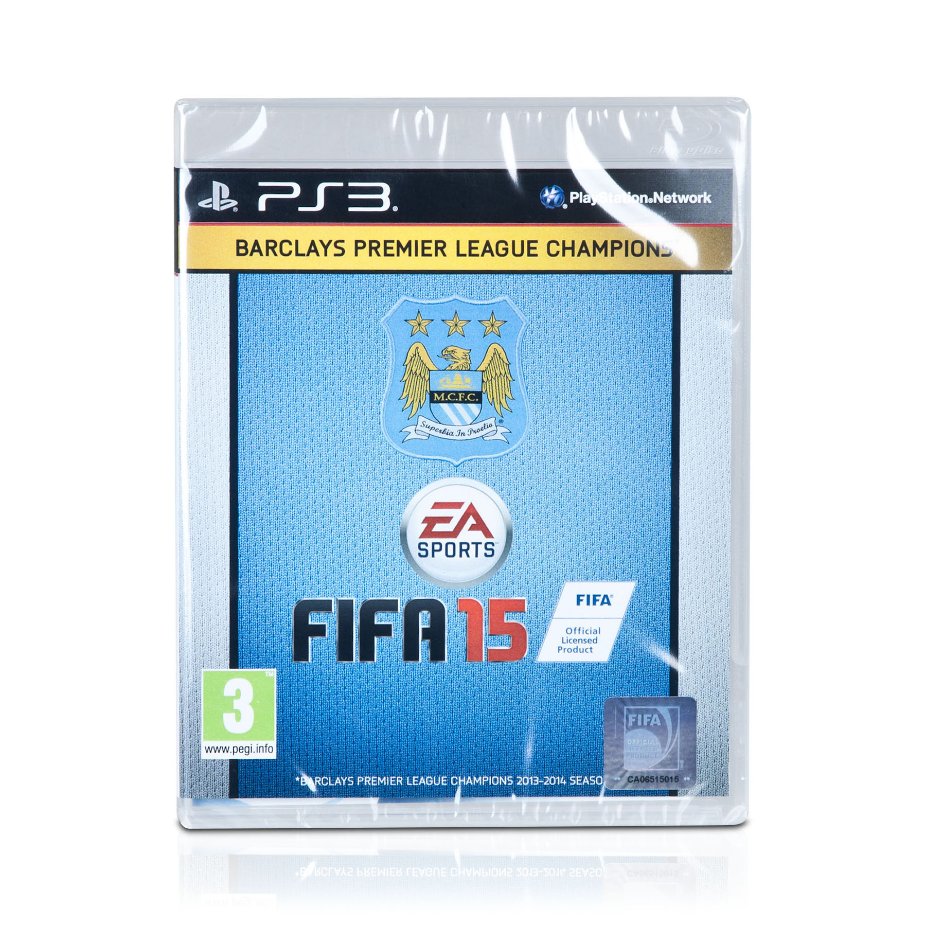 Manchester City Fifa 15 PS3 - Exclusive Cover