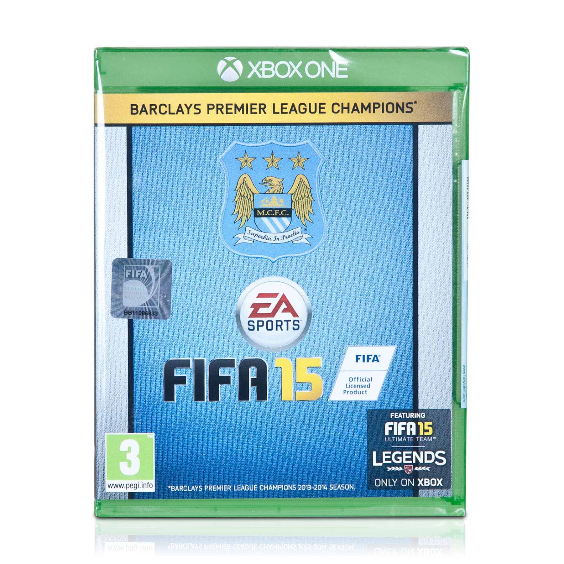 Manchester City Fifa 15 XBox1 -Exclusive Cover