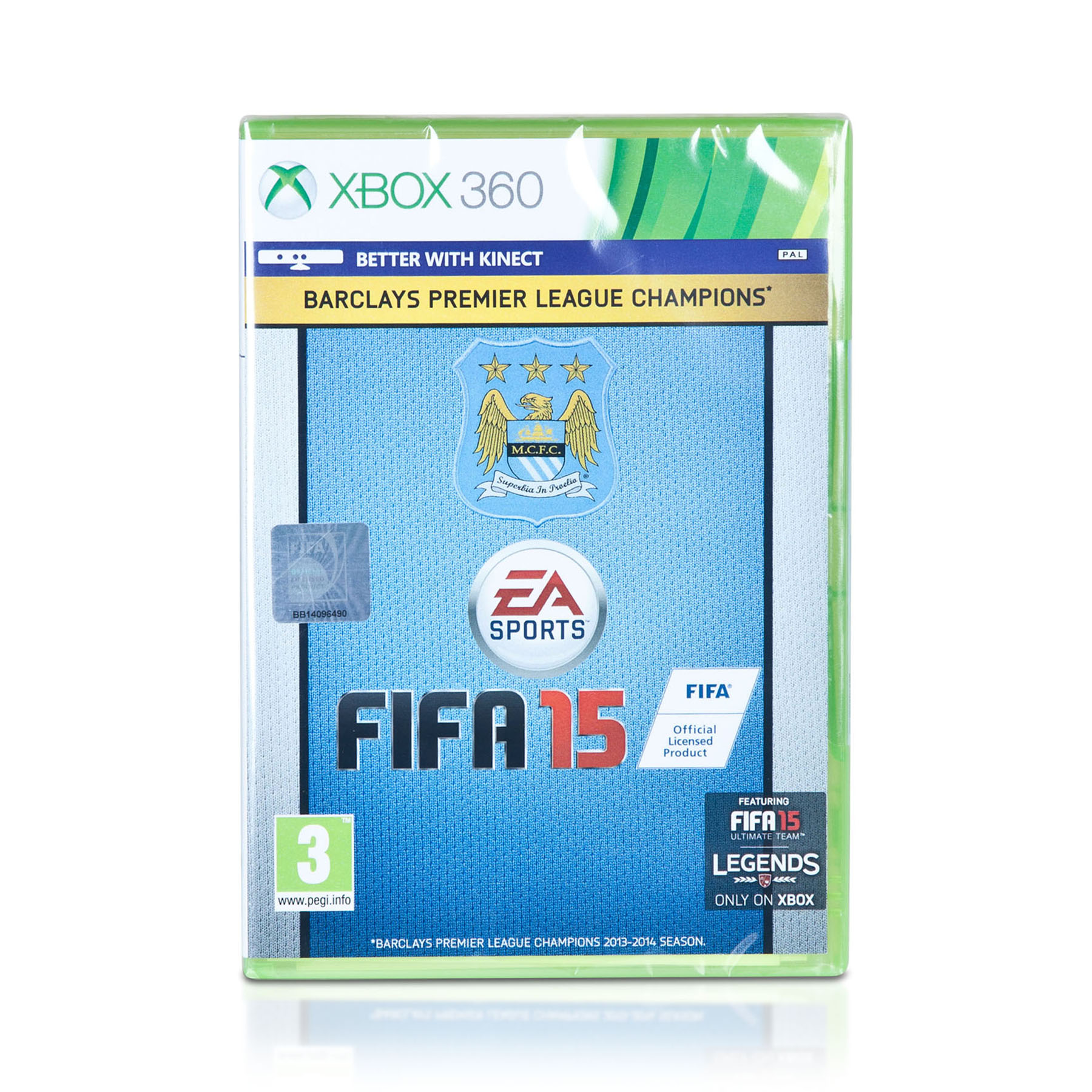 Manchester City Fifa 15 Xbox 360 - Exclusive Cover