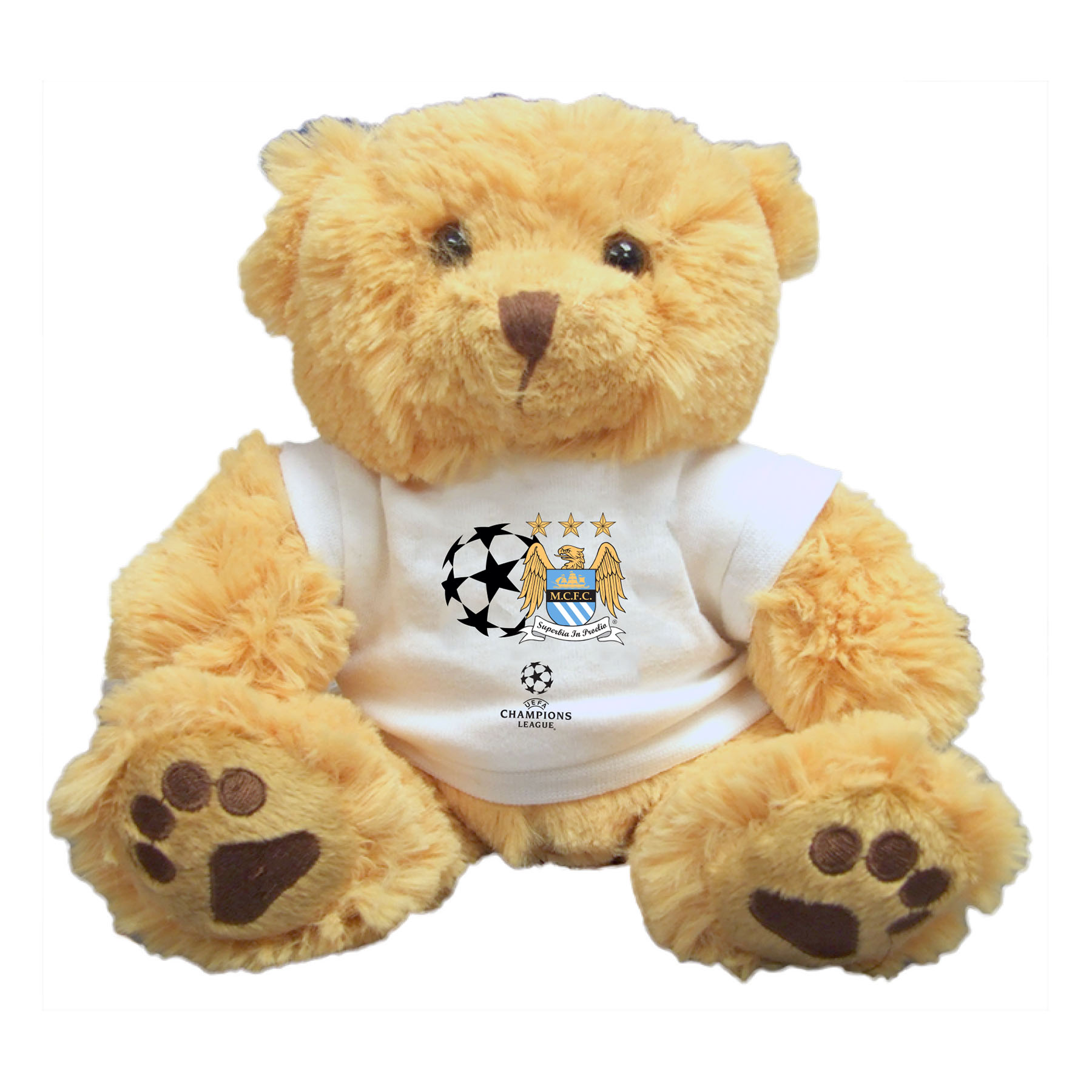 Manchester City Champions League Teddy Bear
