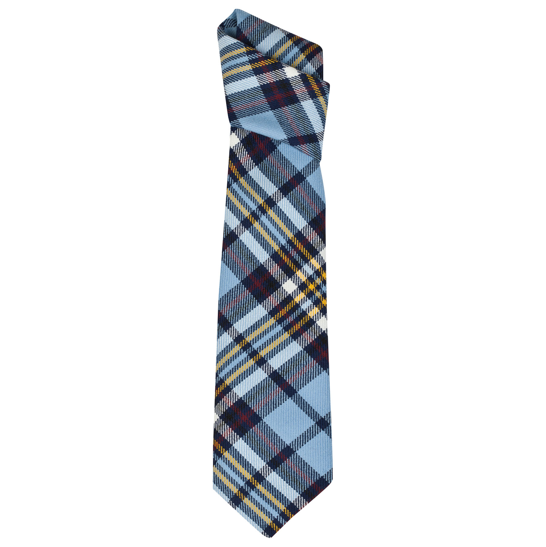 Manchester City Official Tartan Tie - Multi - Mens