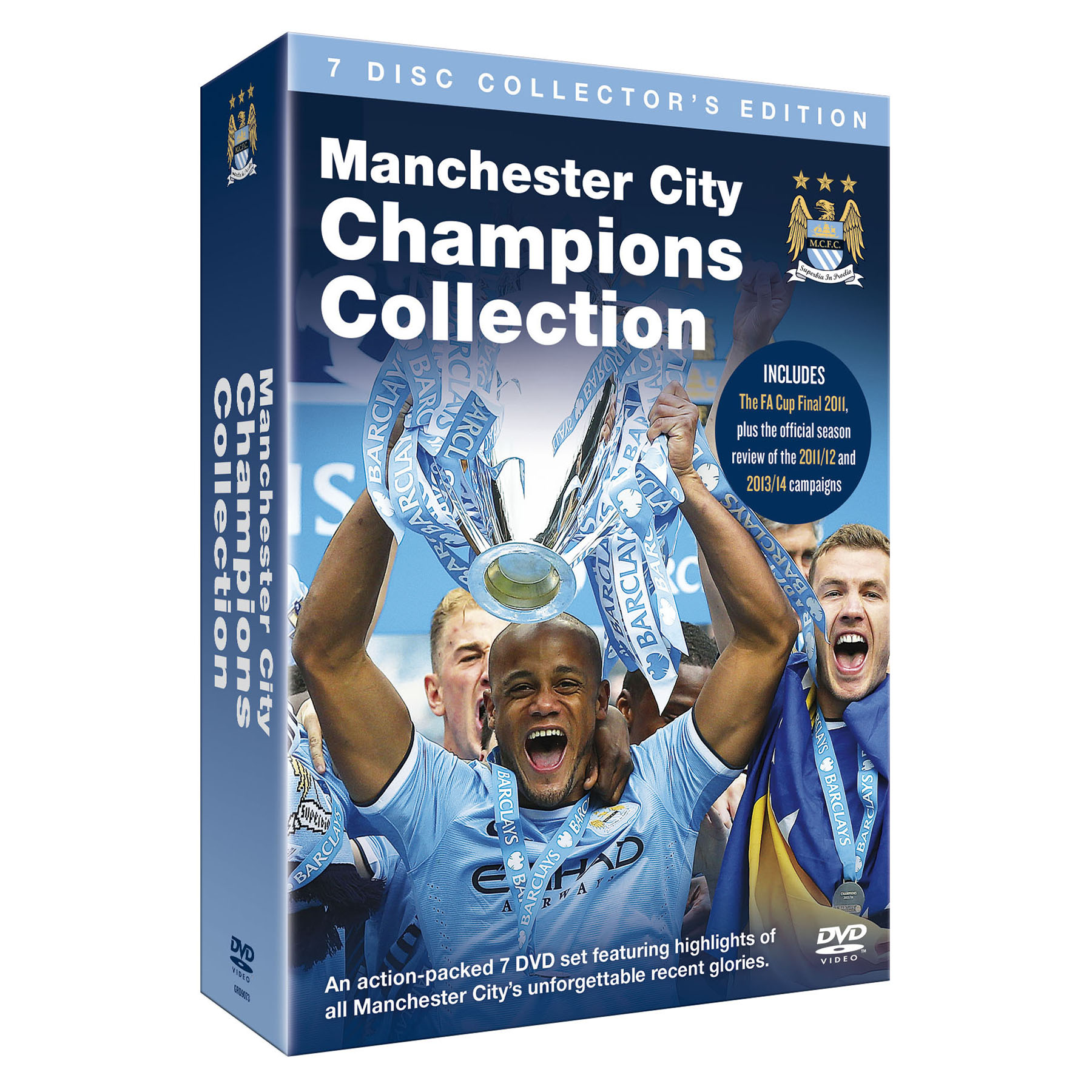 Manchester City Champions Collection DVD Boxset