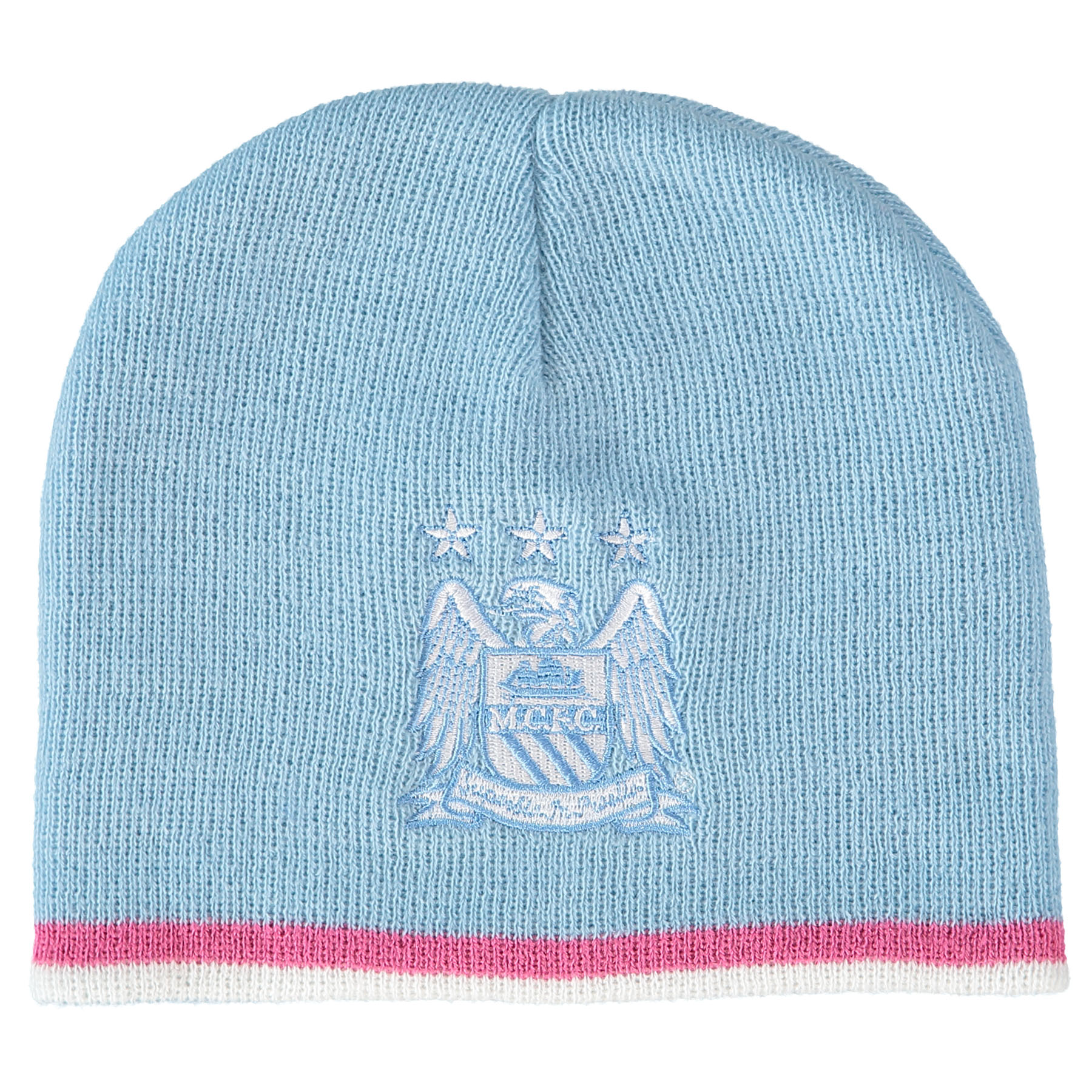 Manchester City Core Hat - Sky/Pink - Adult