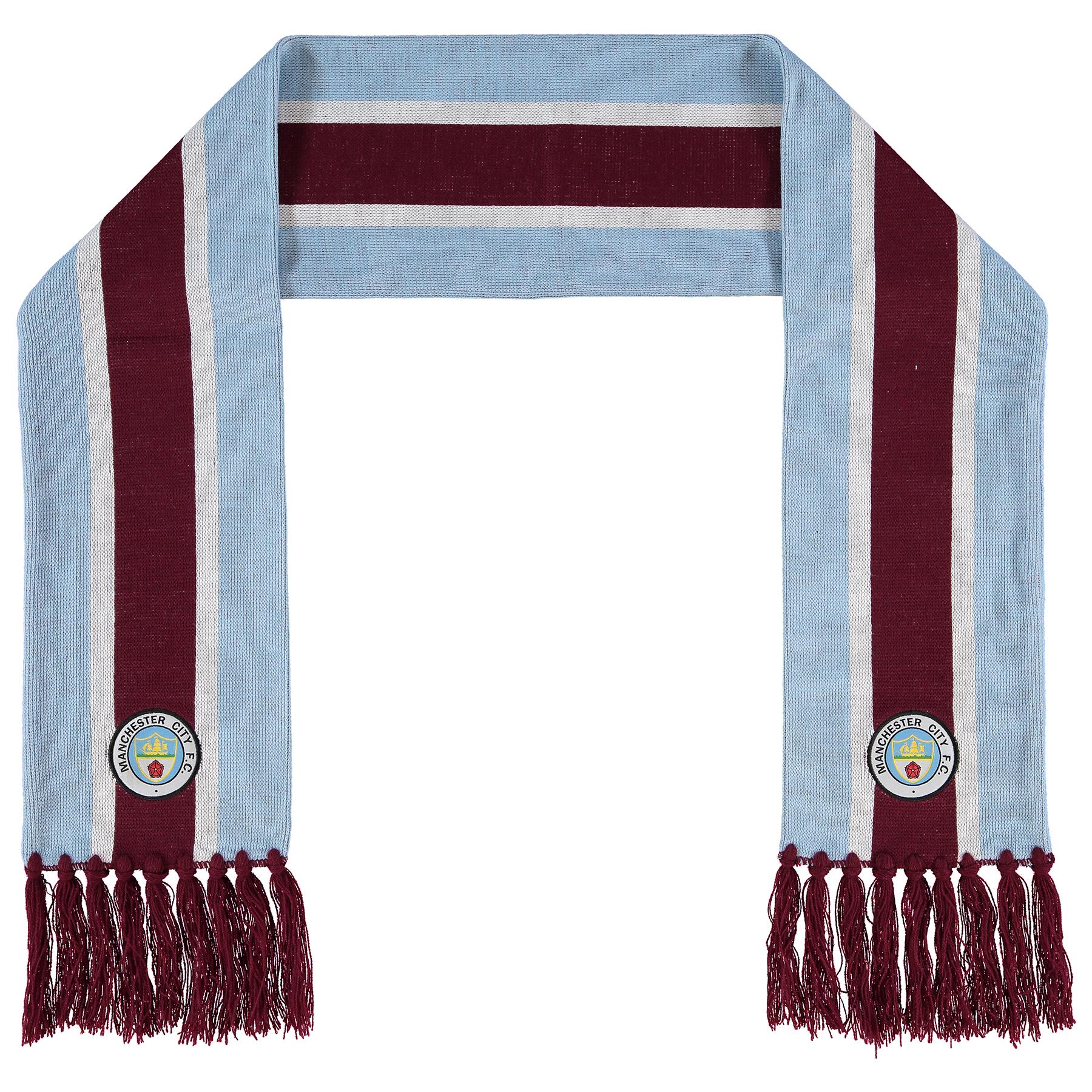 Manchester City FC Blue Wristbands Sky Blue//Navy One Size
