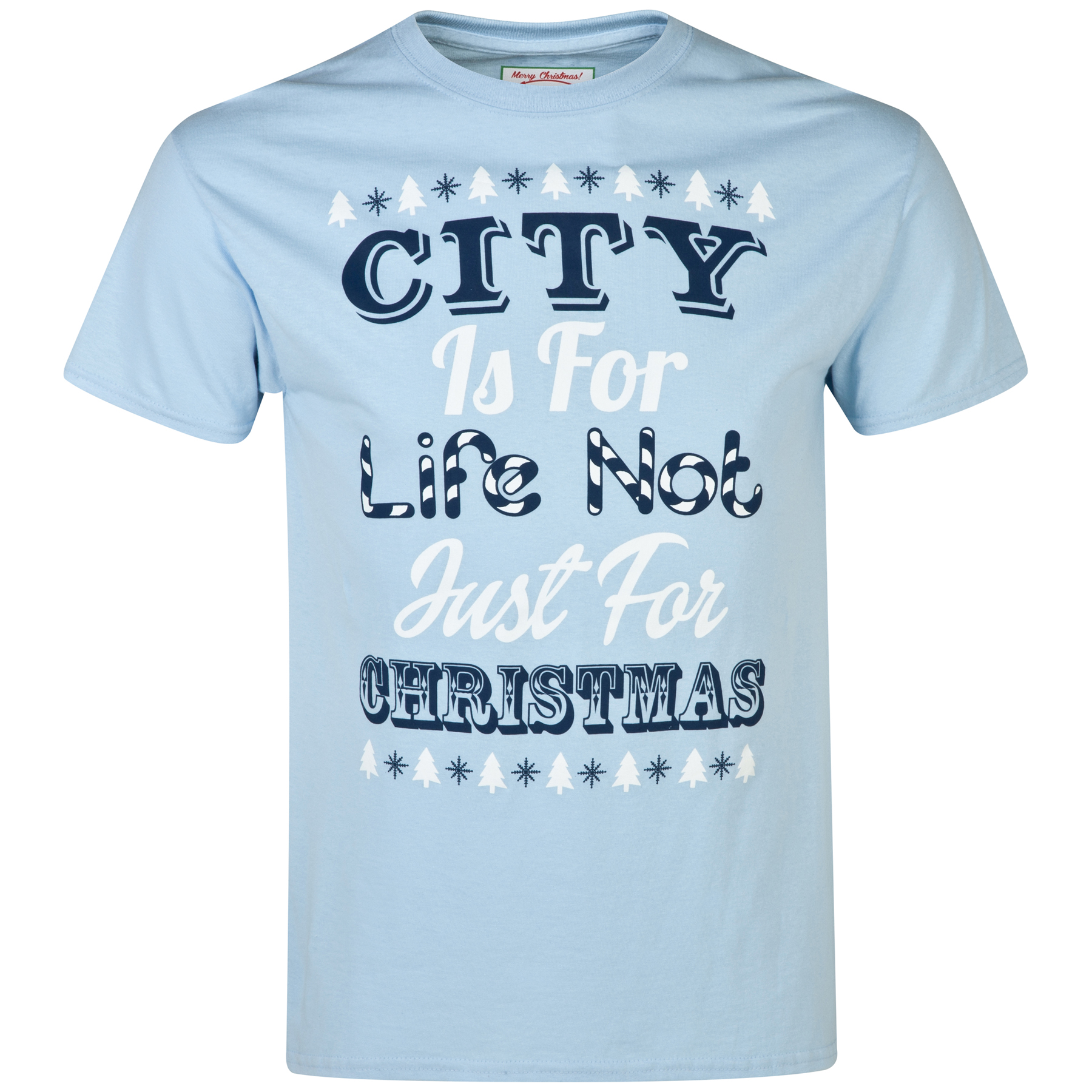 Manchester City 2for20 Life T-Shirt - Sky - Mens