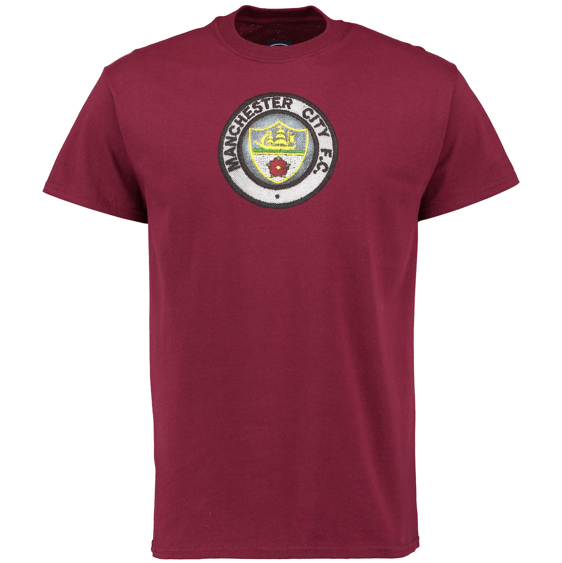 Manchester City 2 for 20 Retro Crest T-Shirt