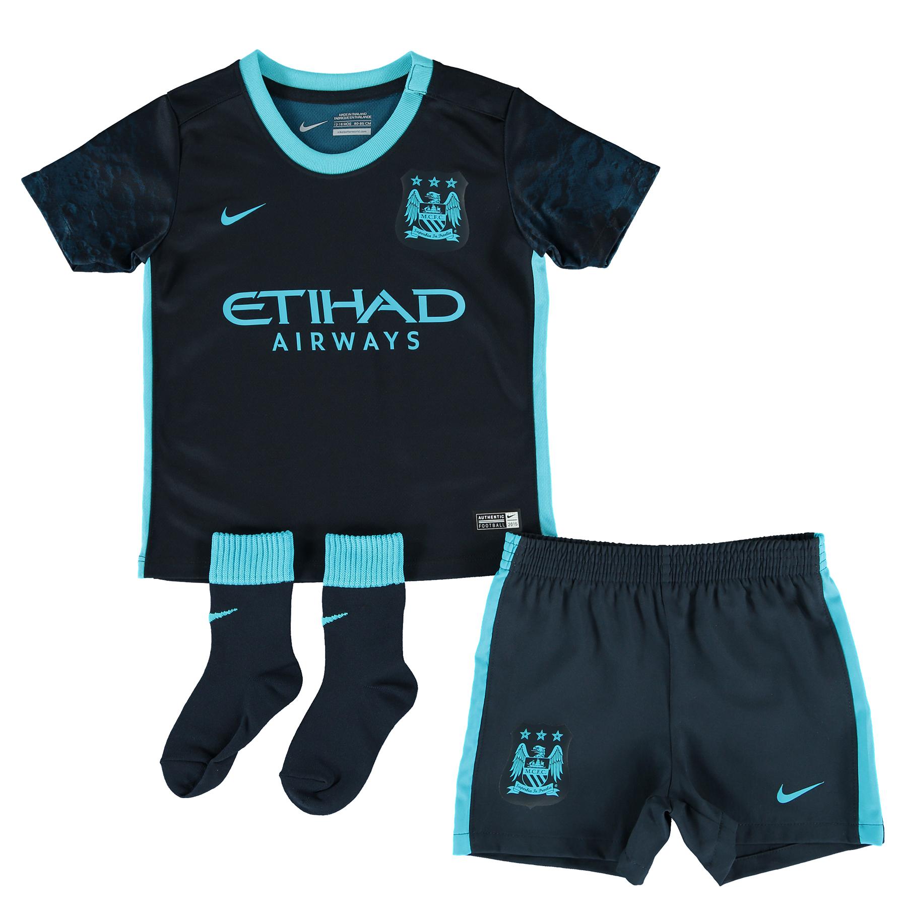 Manchester City Away Kit 2015/16 - Infants