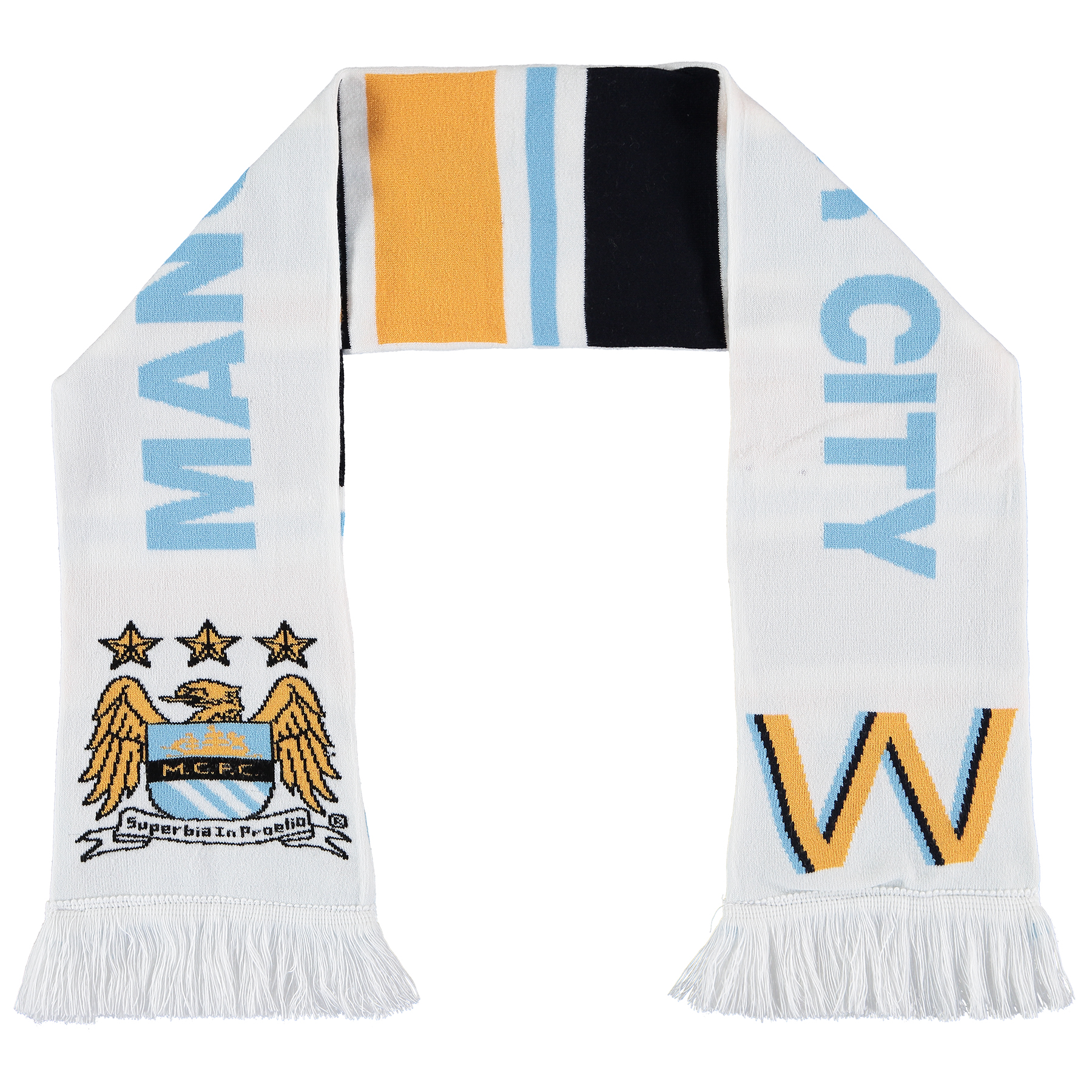 Manchester City Womens Scarf - Multi