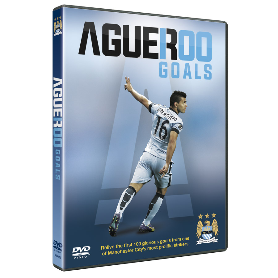 Manchester City Aguero 100 Goals DVD