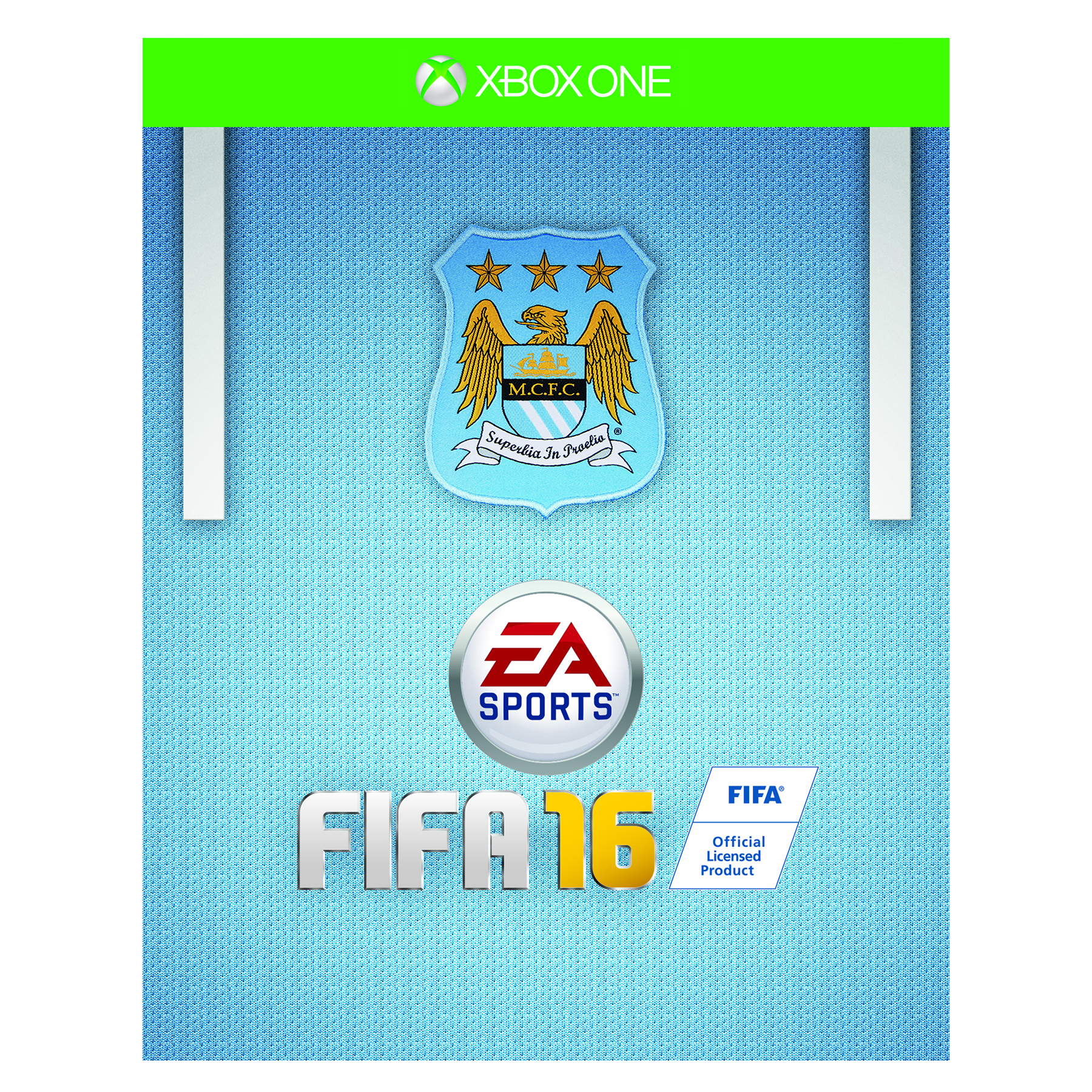 Manchester City Fifa 16 Xbox One -Exclusive Cover