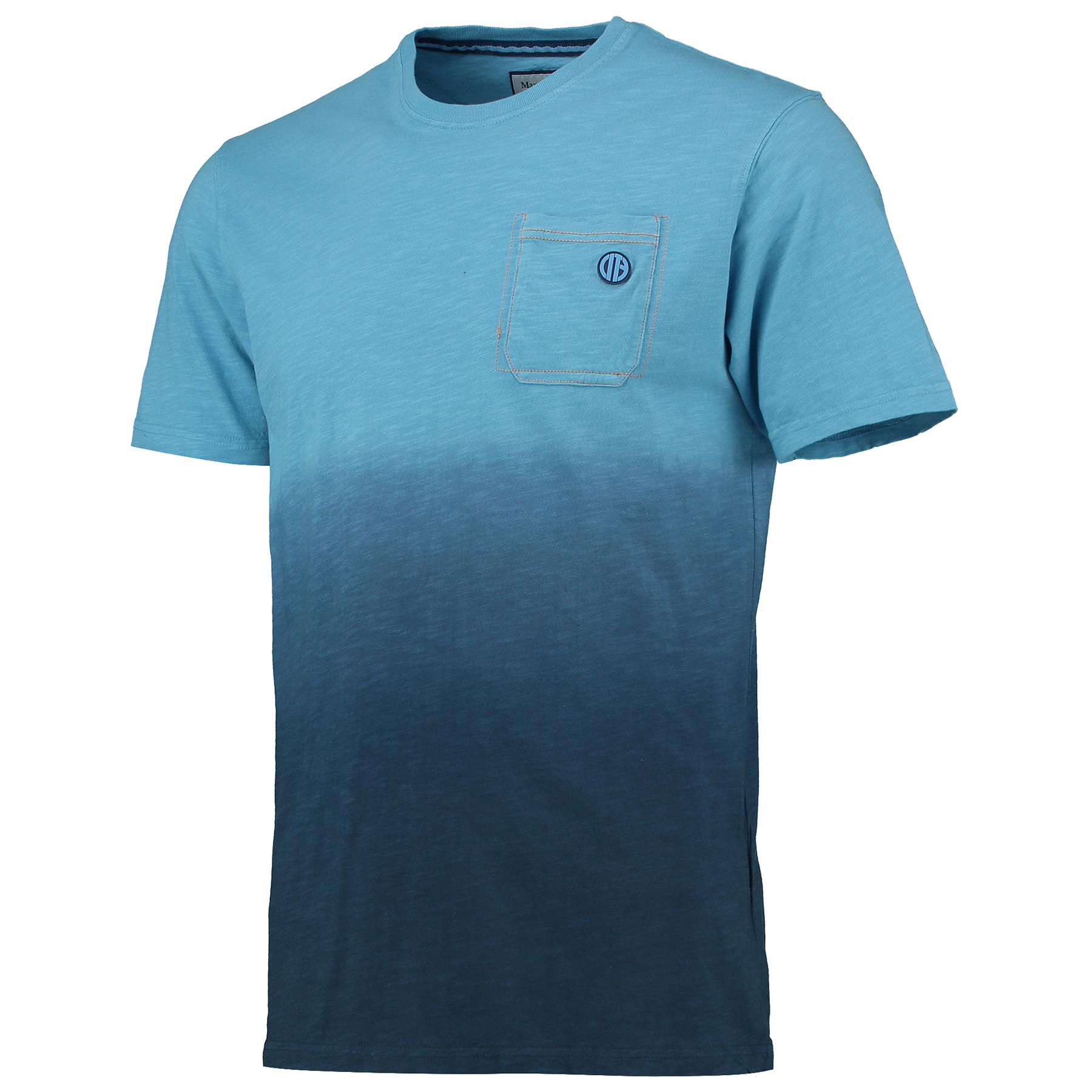 Manchester City Fade T-Shirt - Sky/Navy - Mens