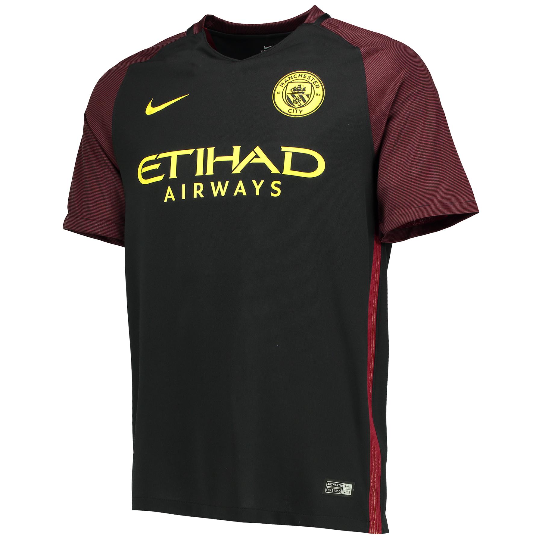 Manchester City Away Stadium Shirt 2016-17-Kids