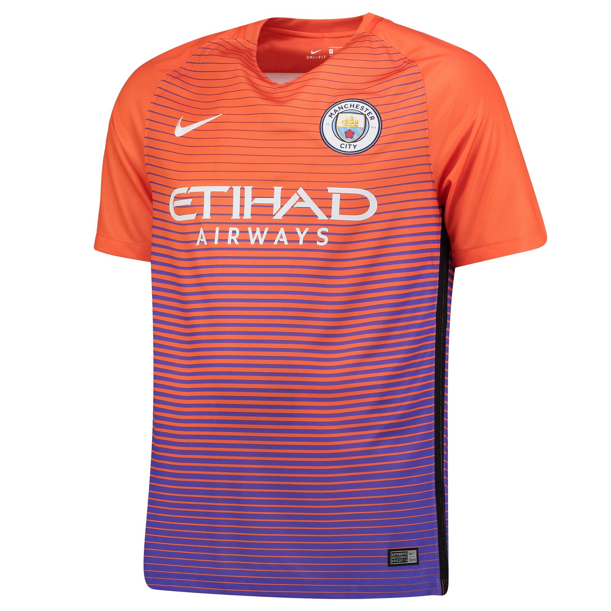 Manchester City Third Stadium Shirt 2016-17