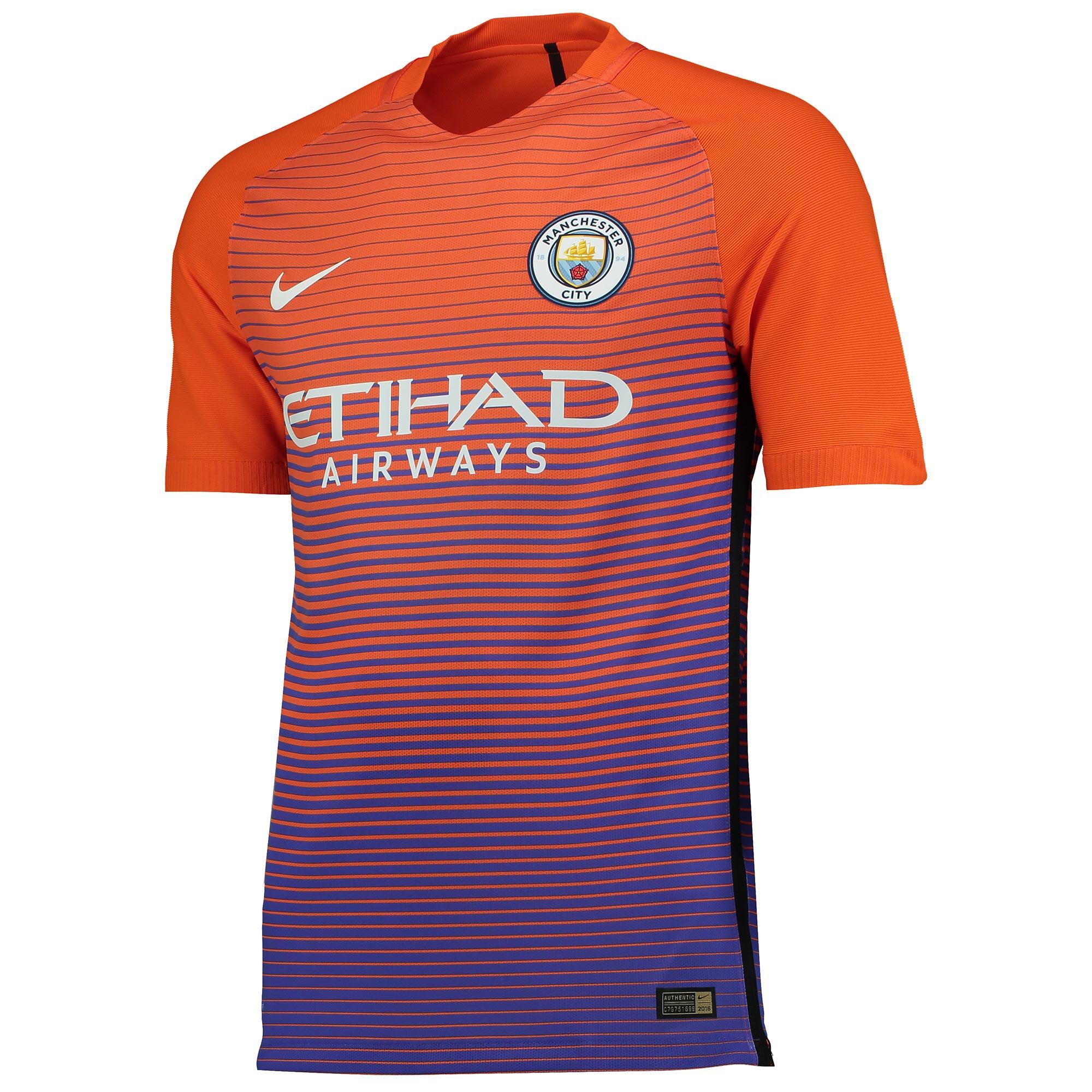 Manchester City Third Vapor Match Shirt 2016-17
