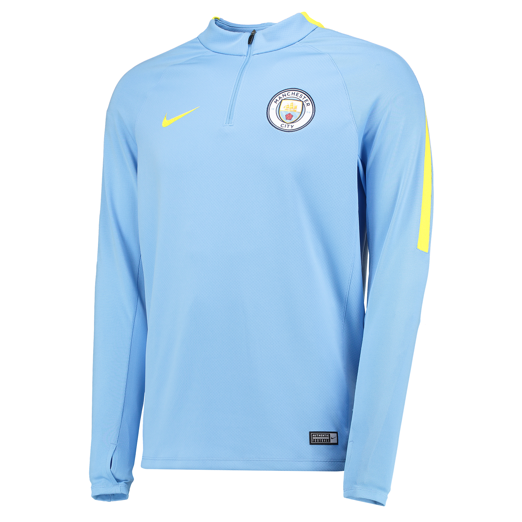 Manchester City Squad Drill Top - Light Blue - Long Sleeve