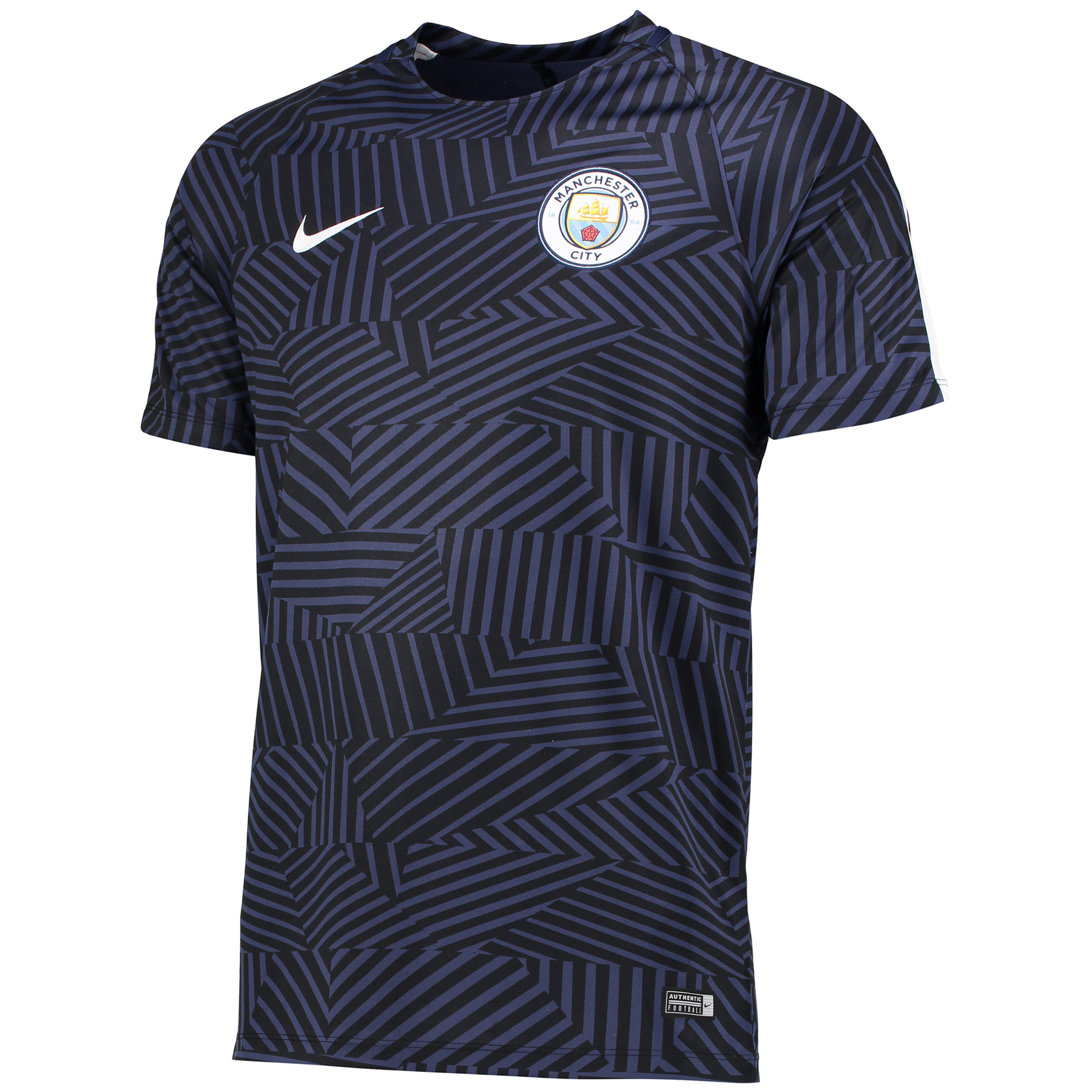 Manchester City Squad Pre-Match Top - Navy