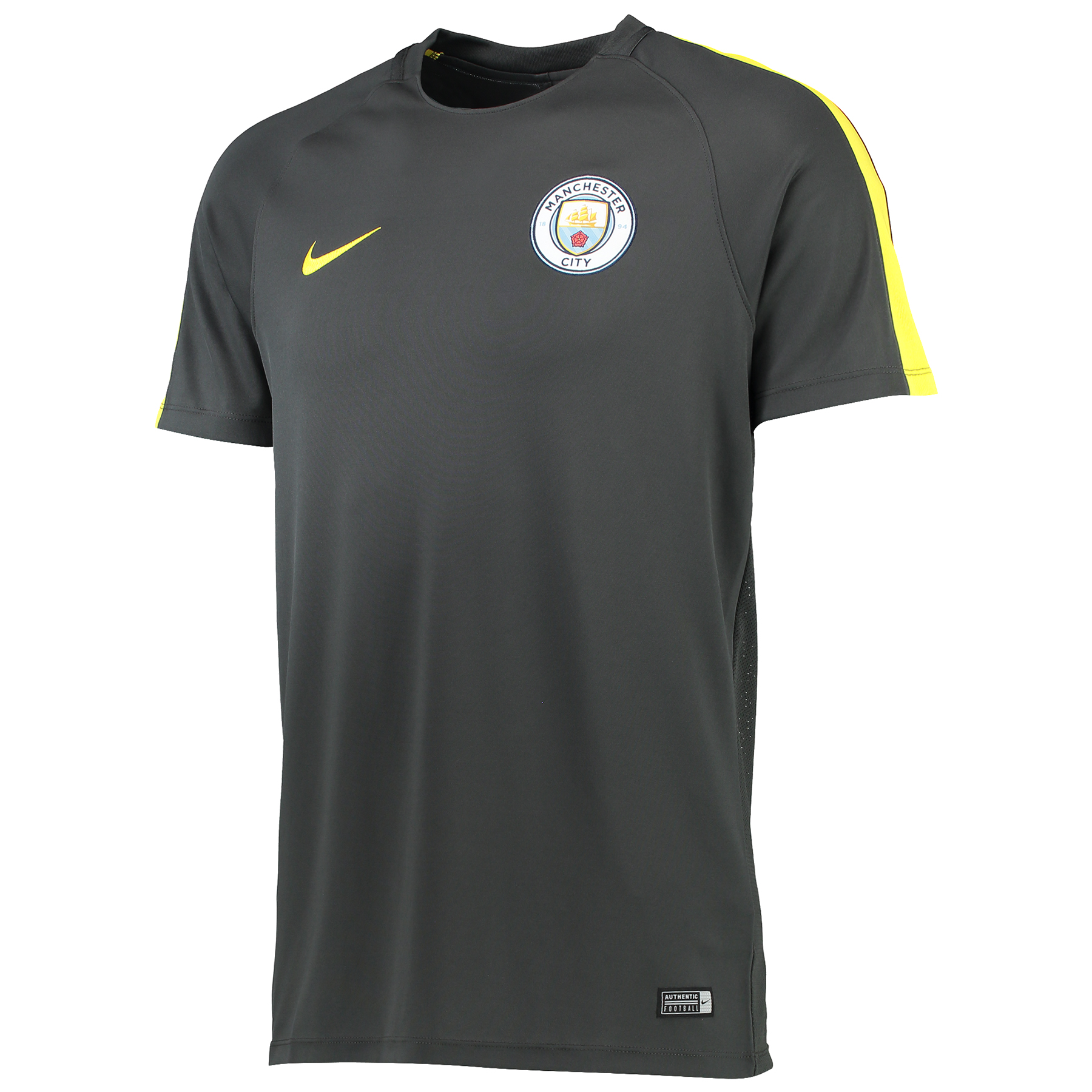 Manchester City Squad Training Top - Dark Grey