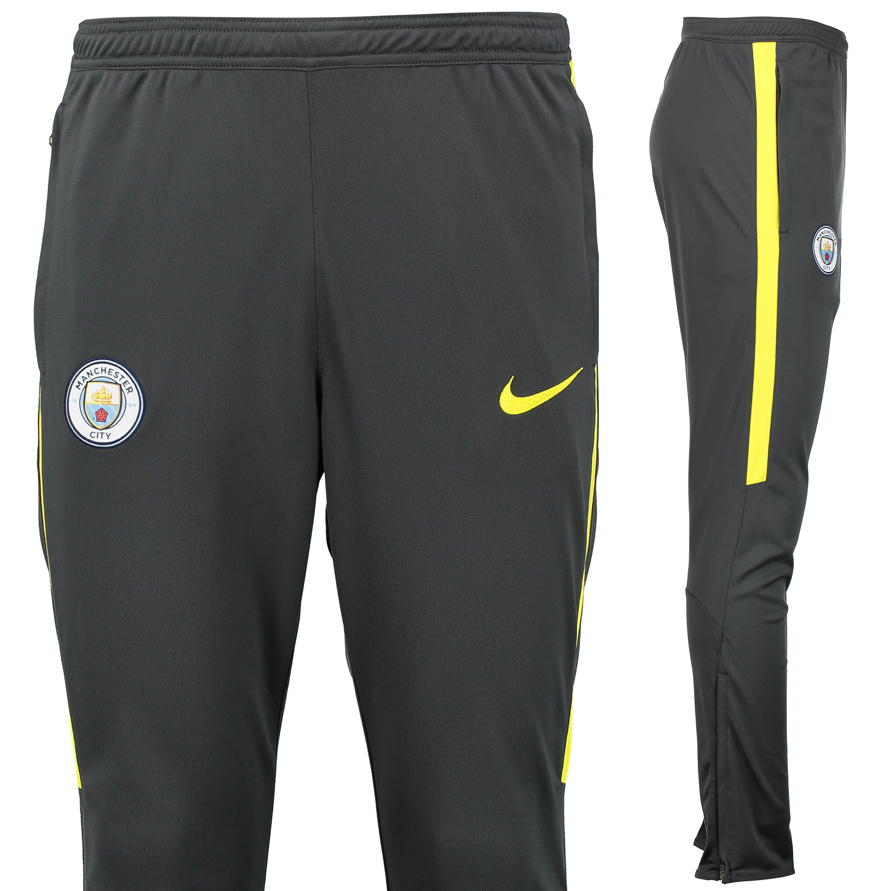 Manchester City Squad Track Pant - Dark Grey
