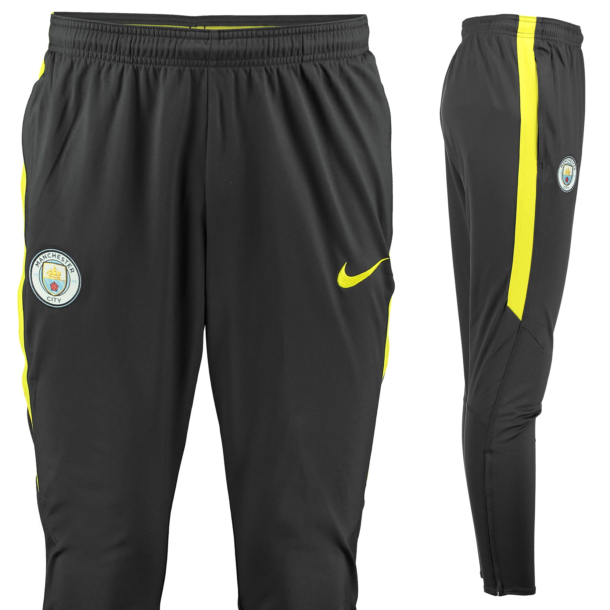 Manchester City Squad Training Pant - Dark Grey