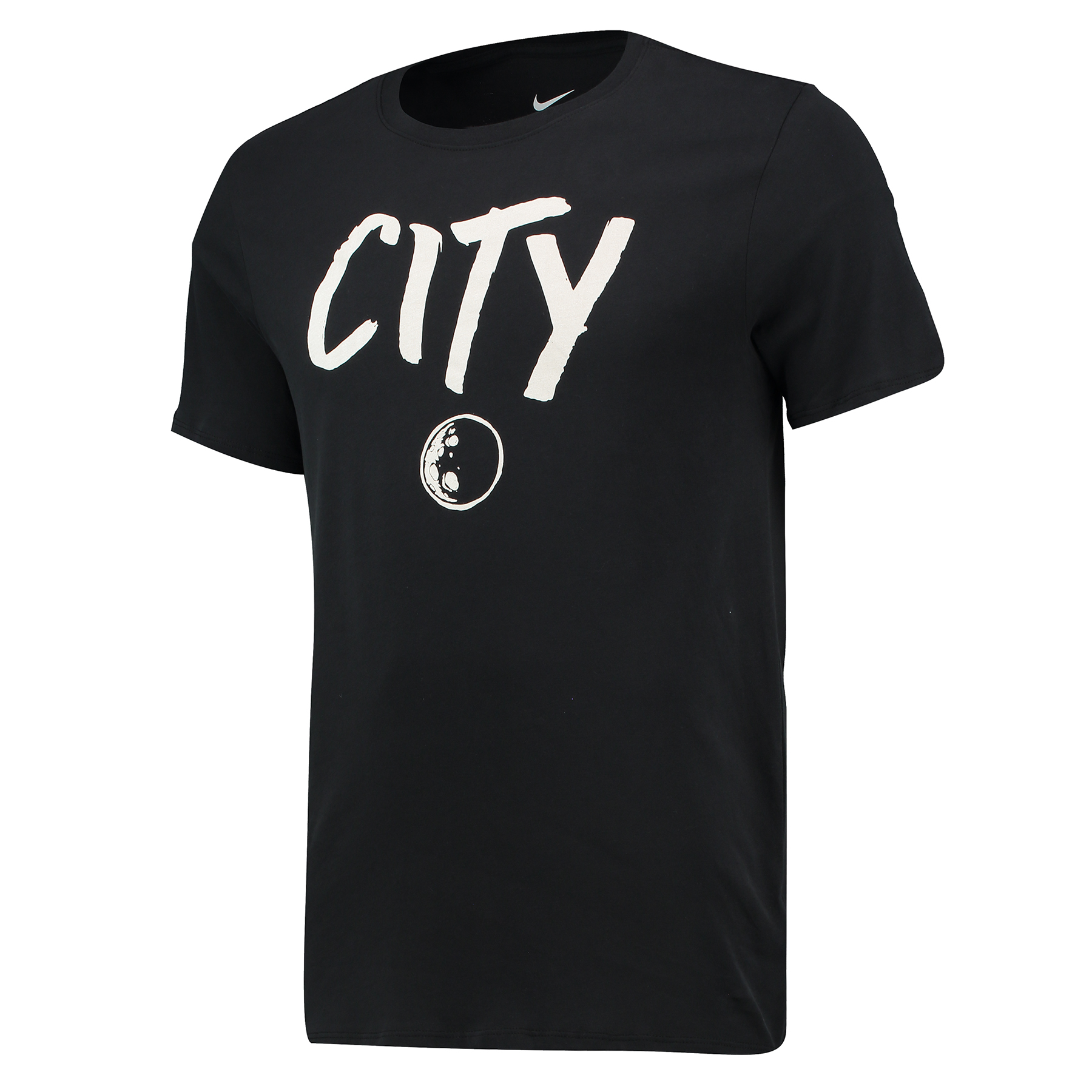 Manchester City Squad T-Shirt - Black