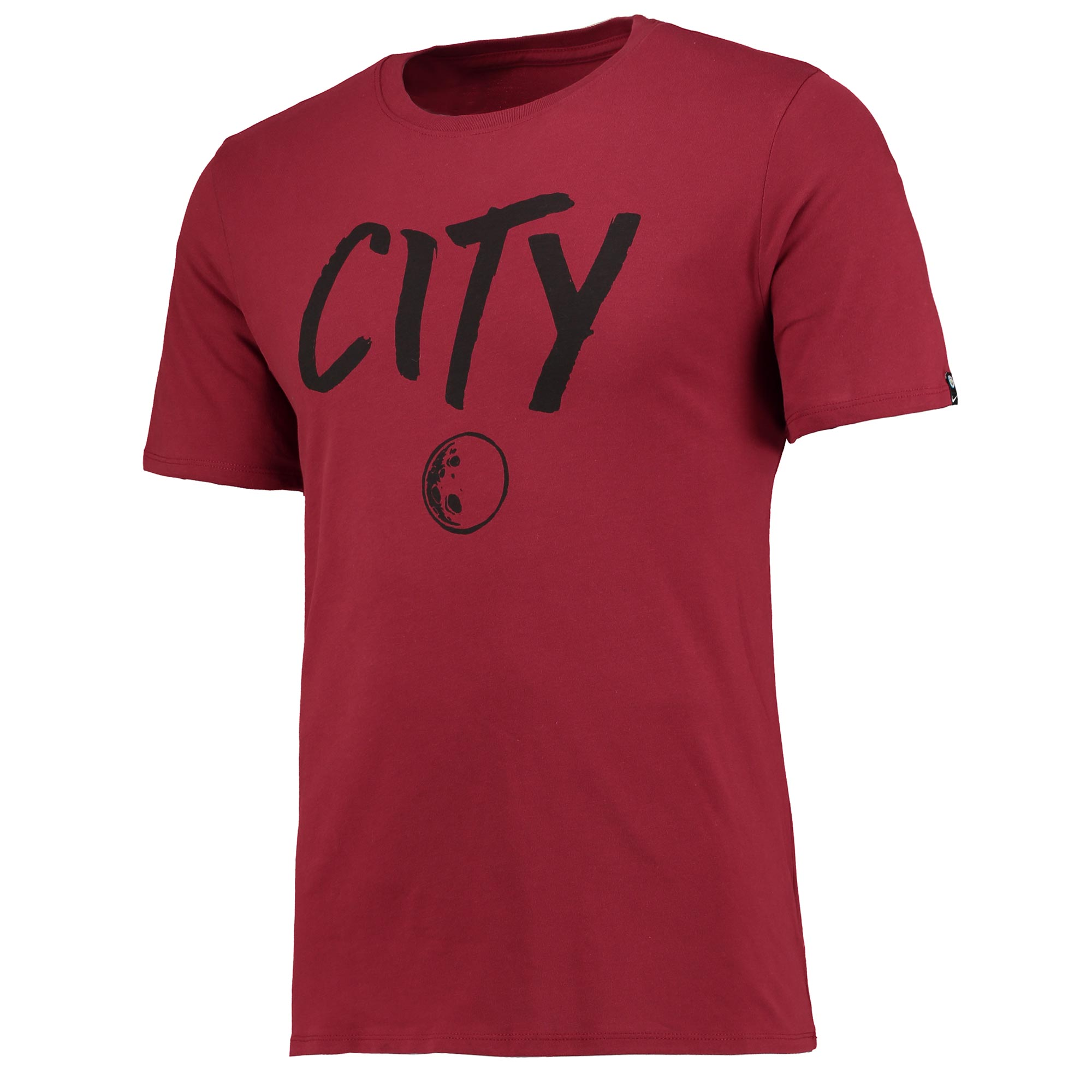 Manchester City Squad T-Shirt - Maroon