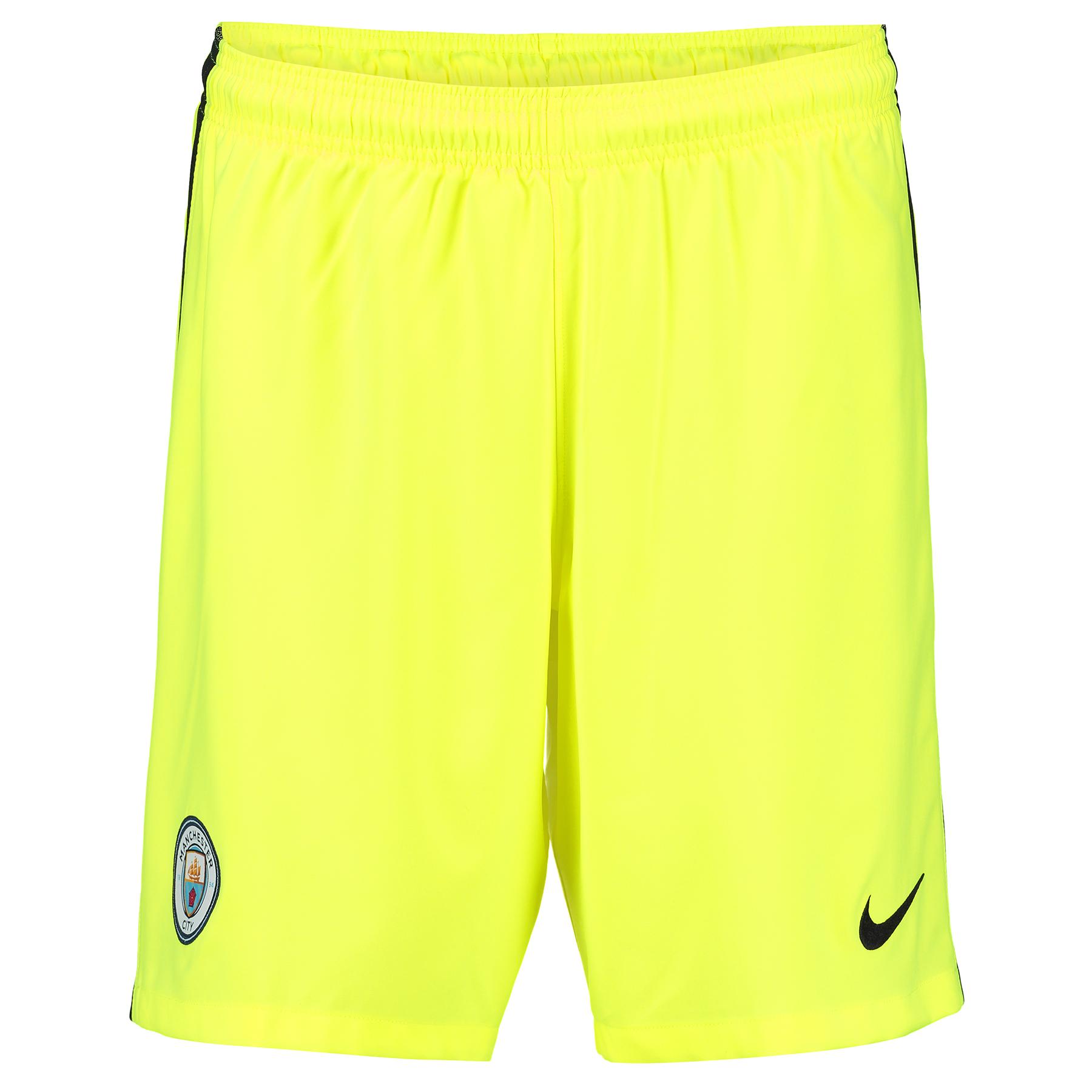 Manchester City Stadium Goalkeeper Shorts 2016-17